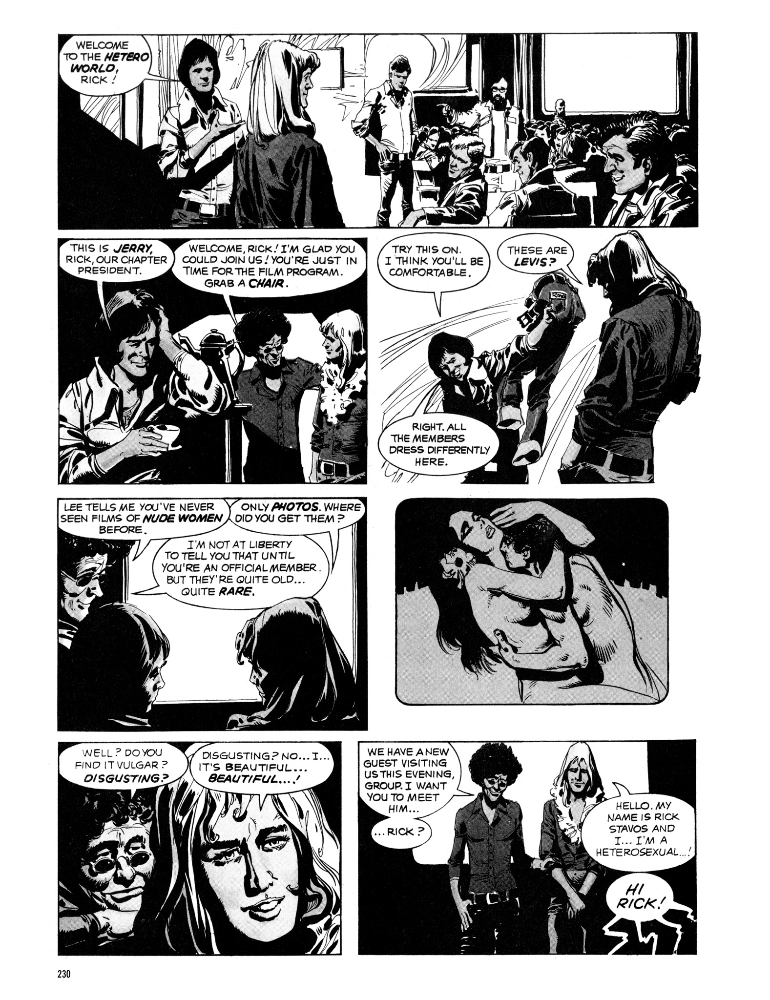 Read online Eerie Archives comic -  Issue # TPB 16 - 231