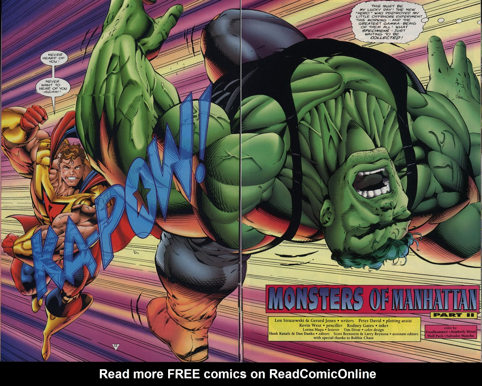 Read online Prime Vs. The Incredible Hulk comic -  Issue # Full - 15