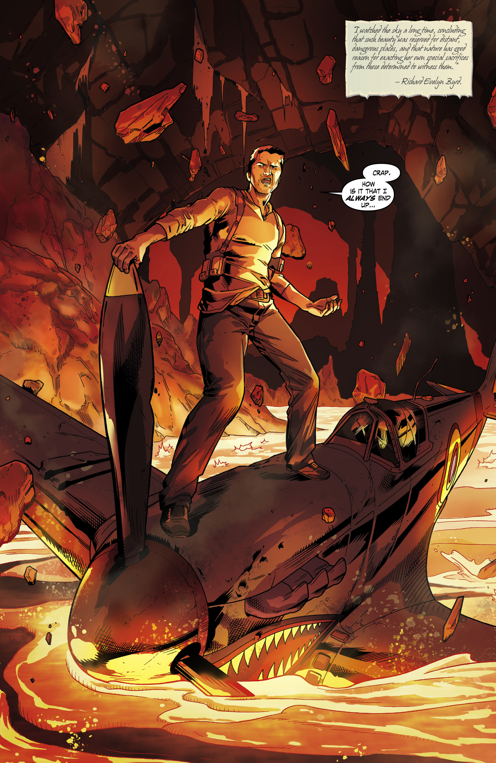 Read online Uncharted comic -  Issue #1 - 3