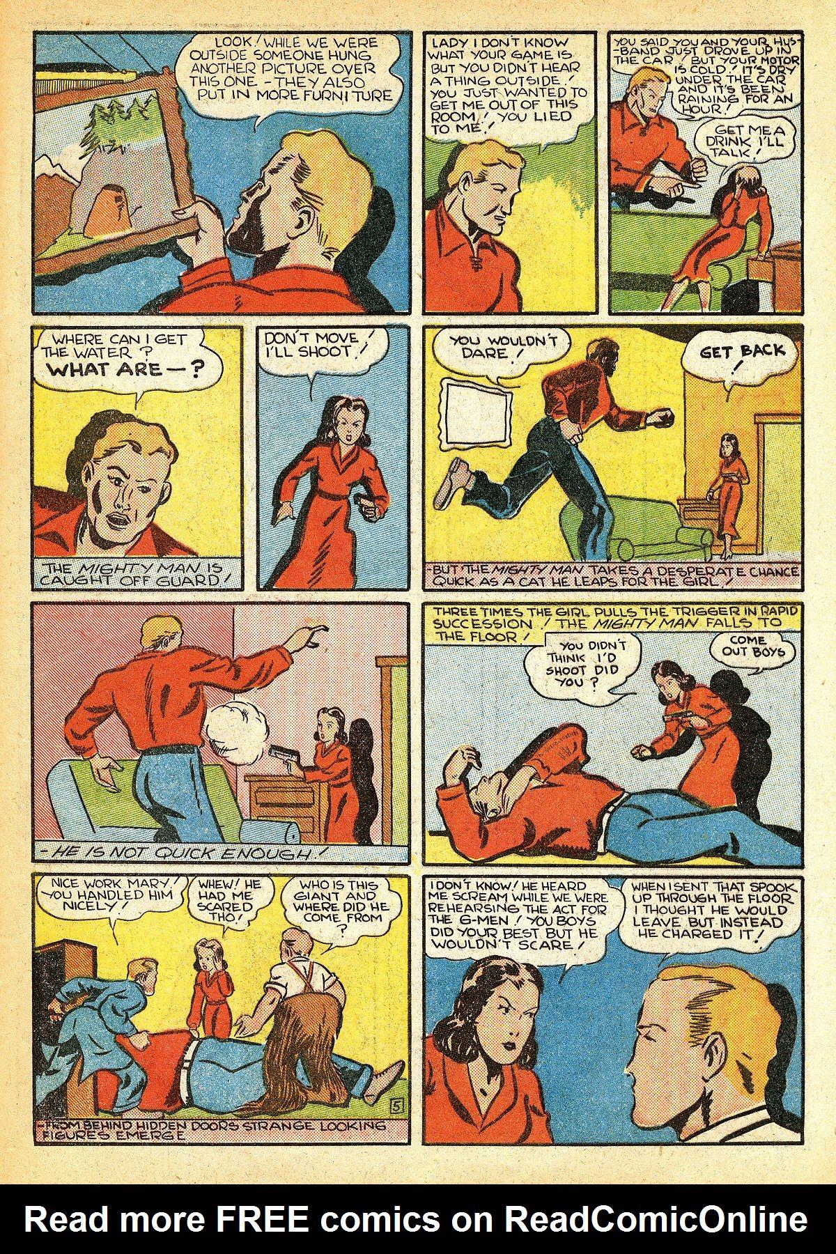 Read online Amazing Man Comics comic -  Issue #10 - 56