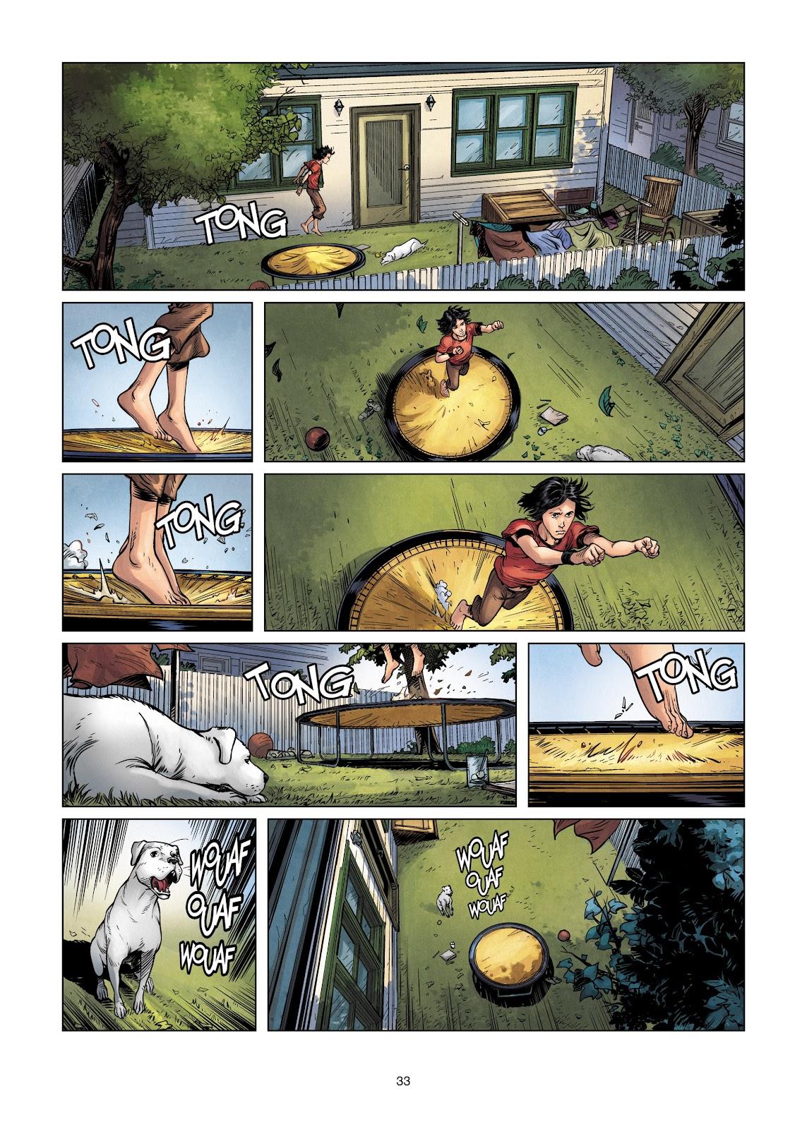 Read online Vigilantes comic -  Issue #2 - 33