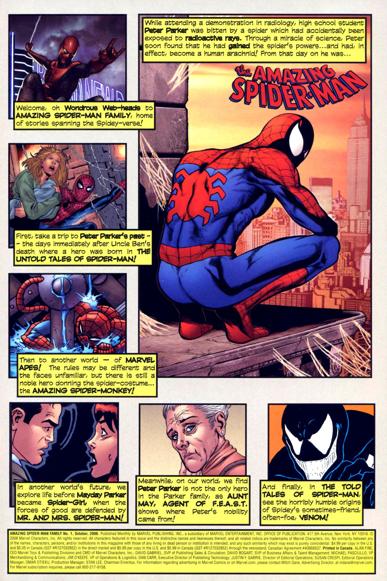 Read online Amazing Spider-Man Family comic -  Issue #1 - 2