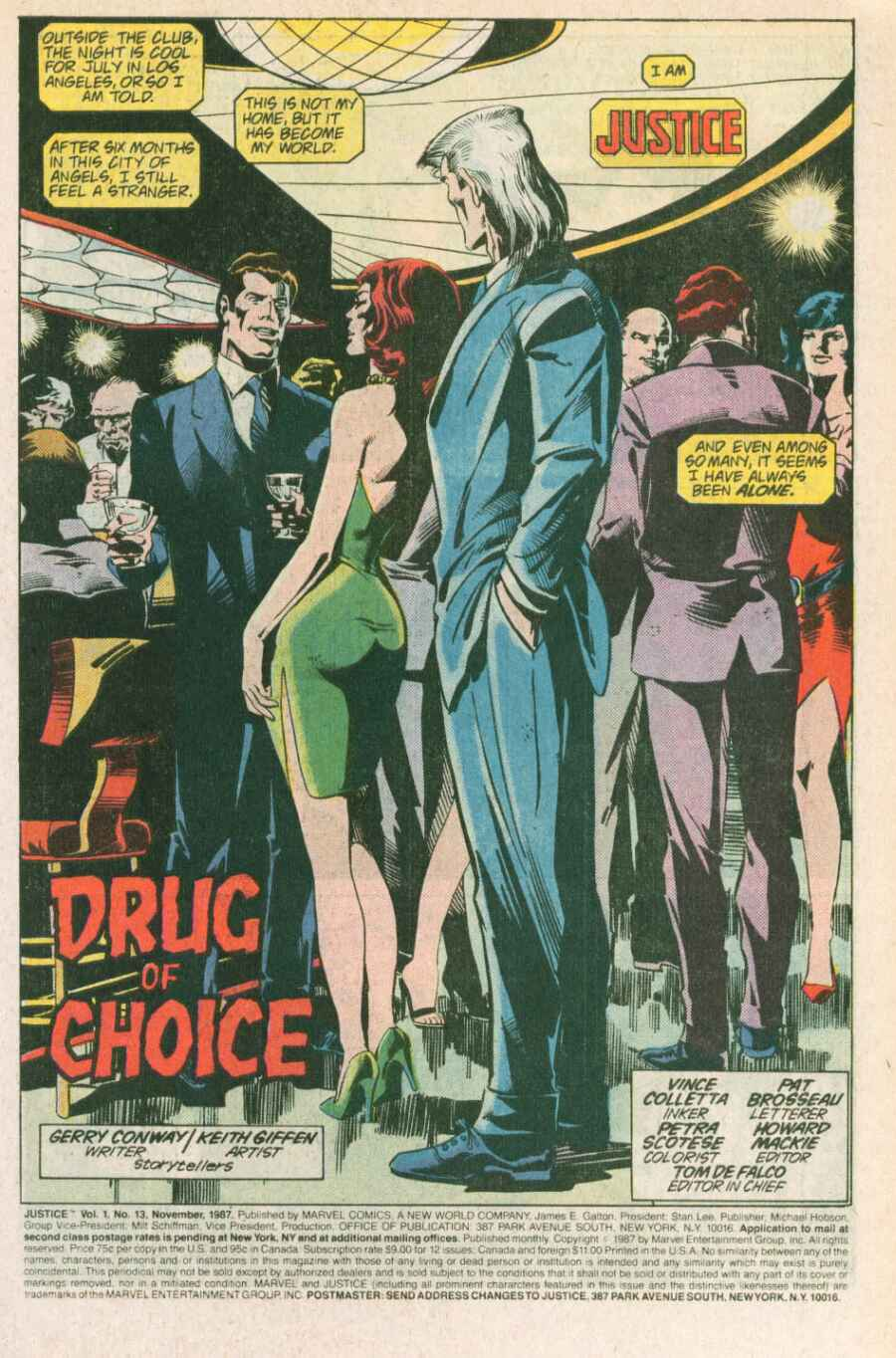 Read online Justice (1986) comic -  Issue #13 - 2