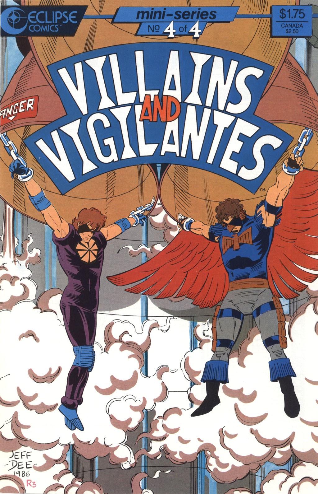 Villains and Vigilantes 4 Page 1