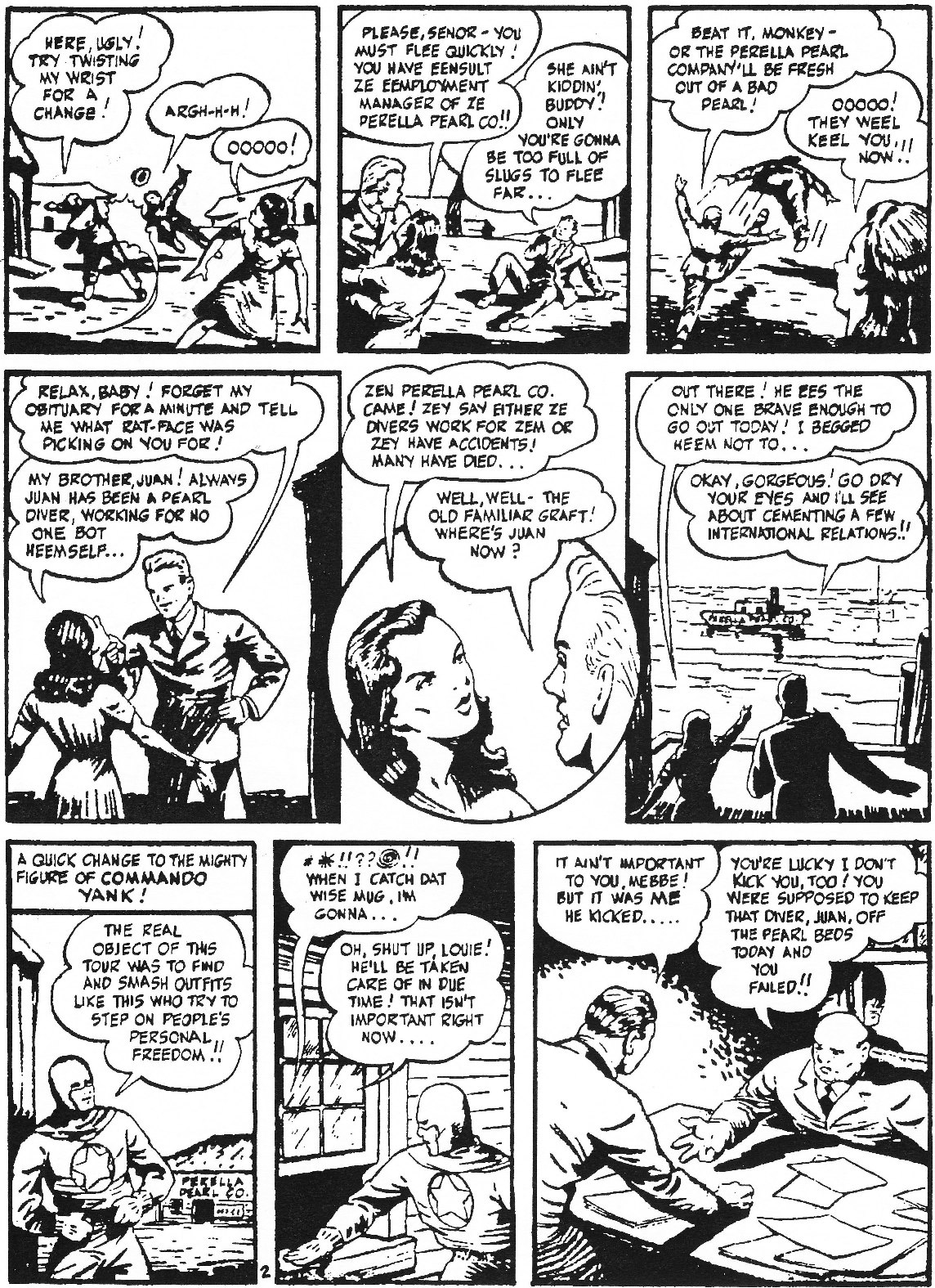 Read online Men of Mystery Comics comic -  Issue #61 - 36