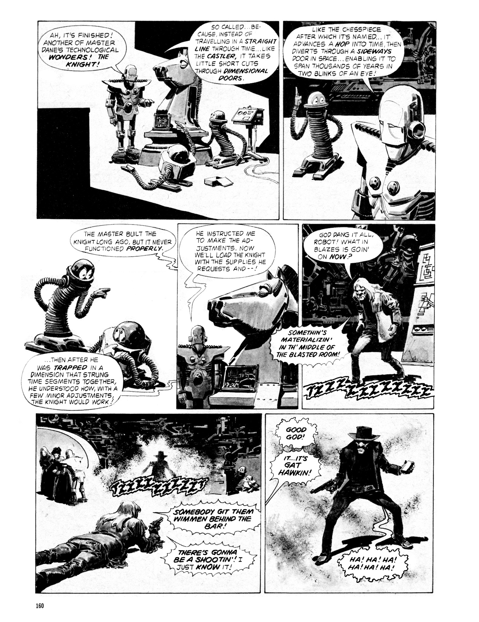 Read online Eerie Archives comic -  Issue # TPB 18 - 157