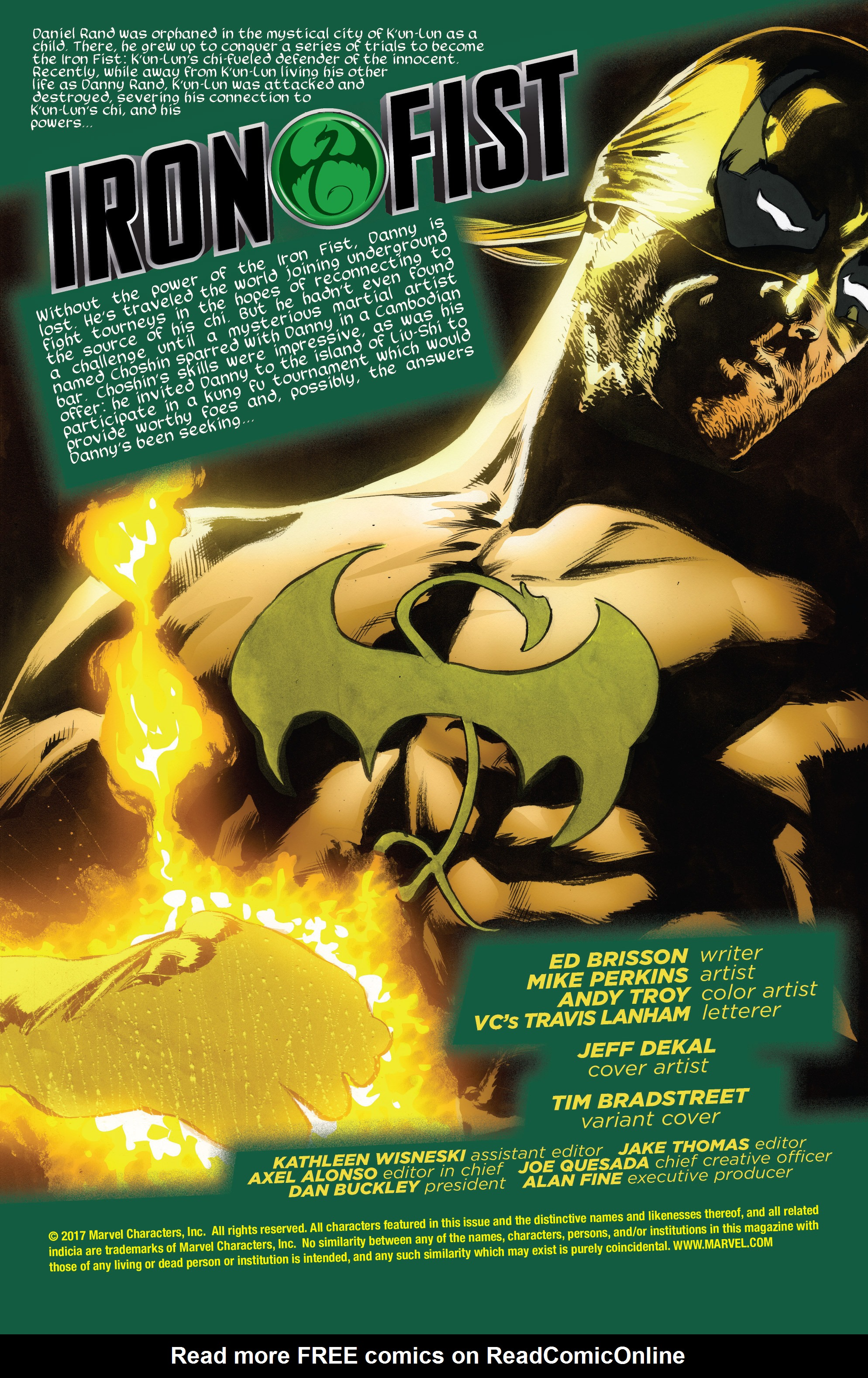 Read online Iron Fist (2017) comic -  Issue #2 - 2