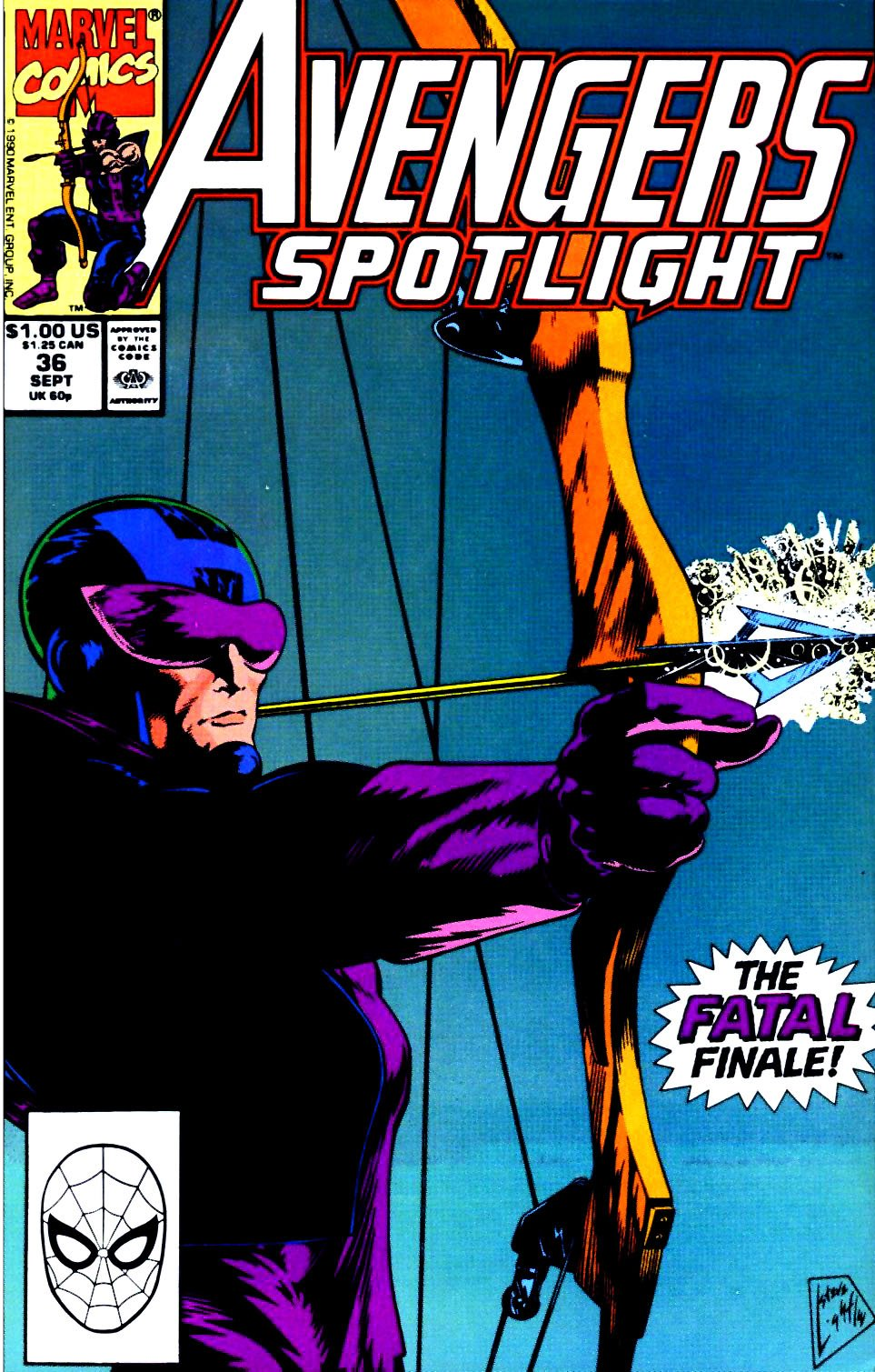 Avengers Spotlight 36 Page 1