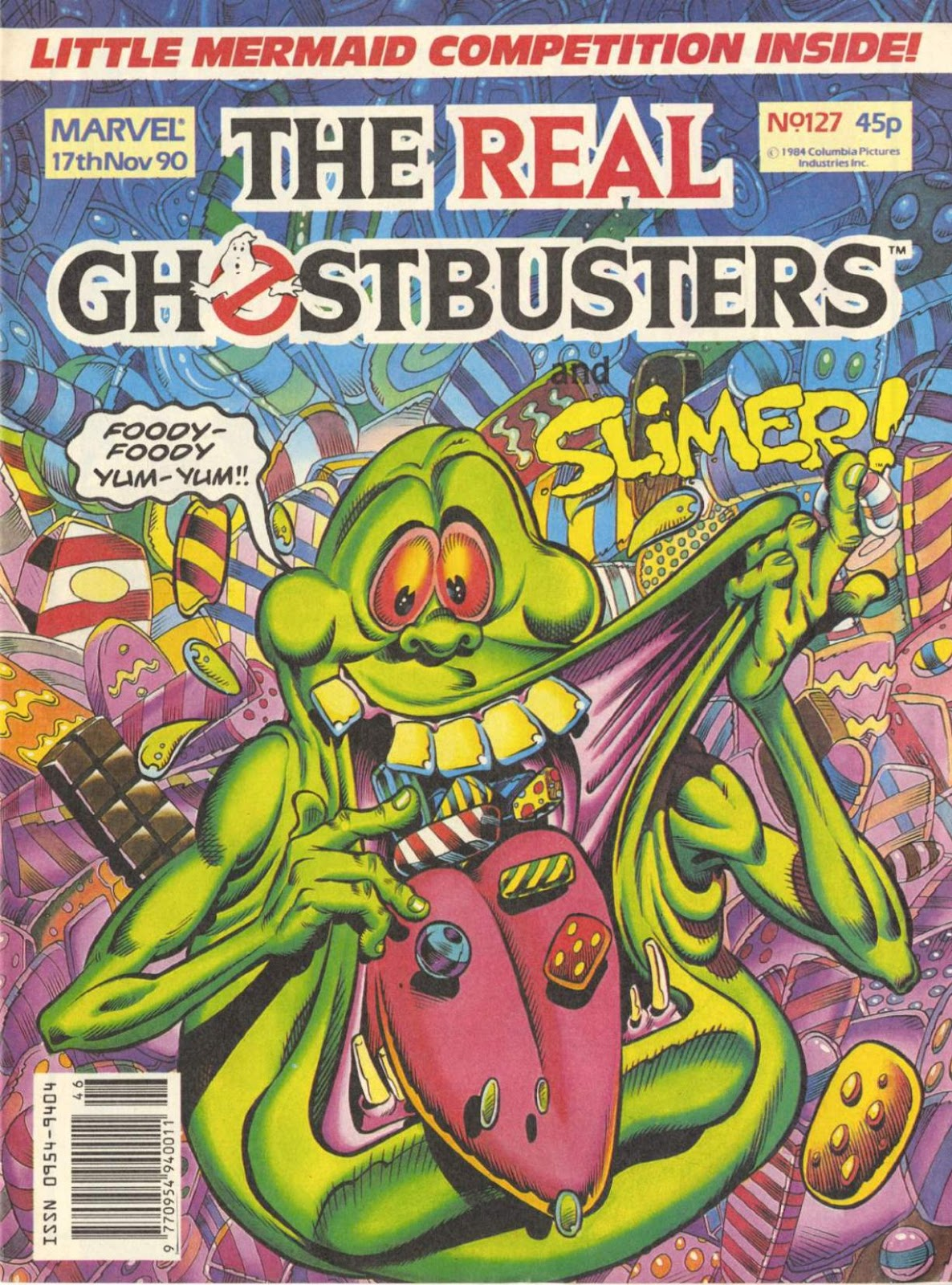 The Real Ghostbusters 127 Page 1