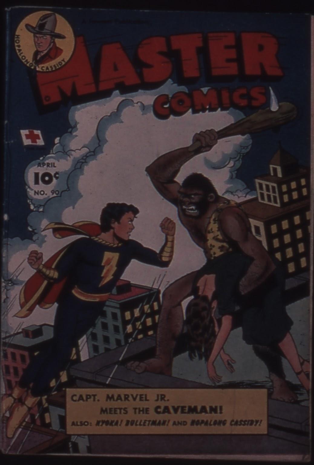 Master Comics 90 Page 1