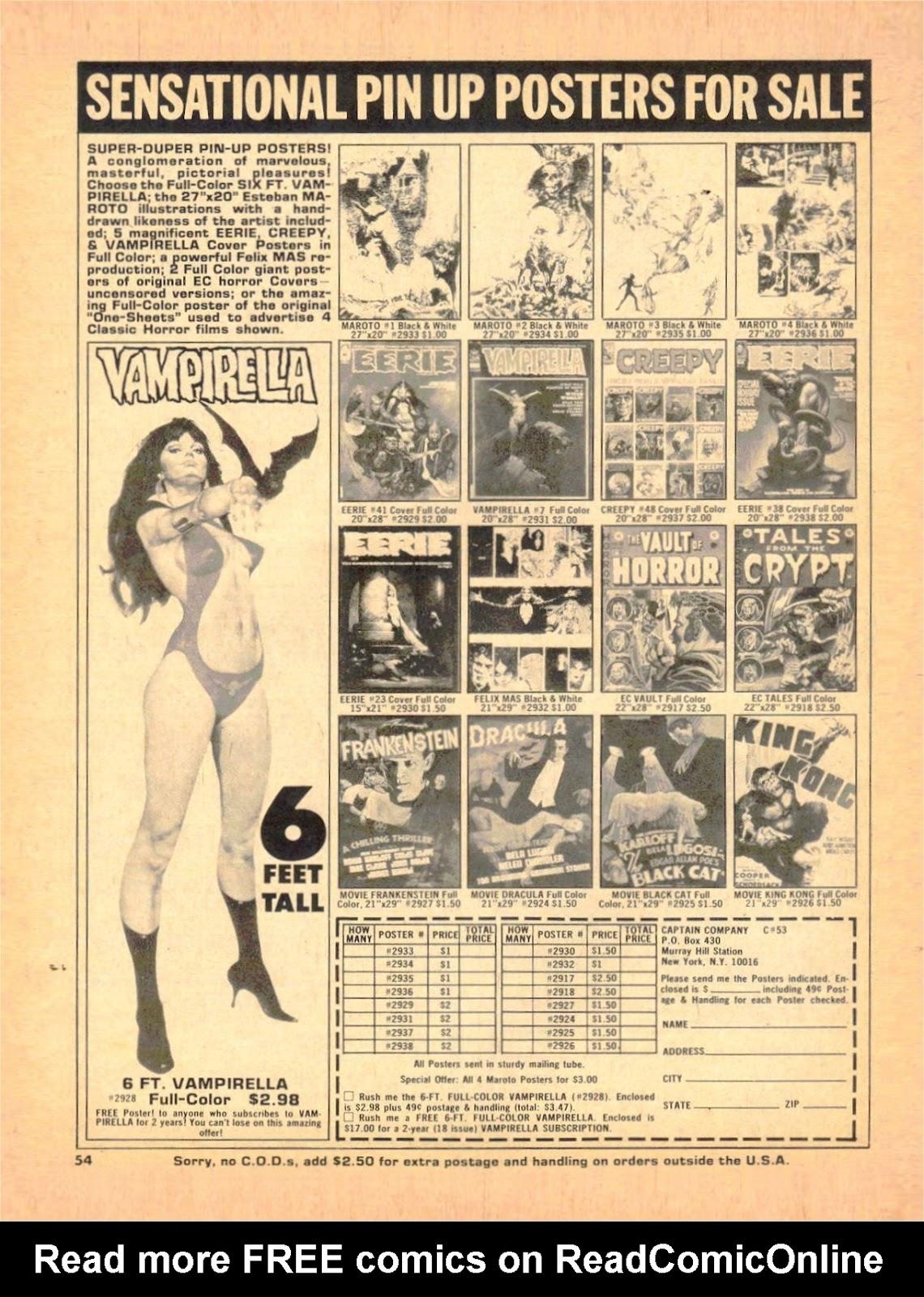 Creepy (1964) Issue #53 #53 - English 53