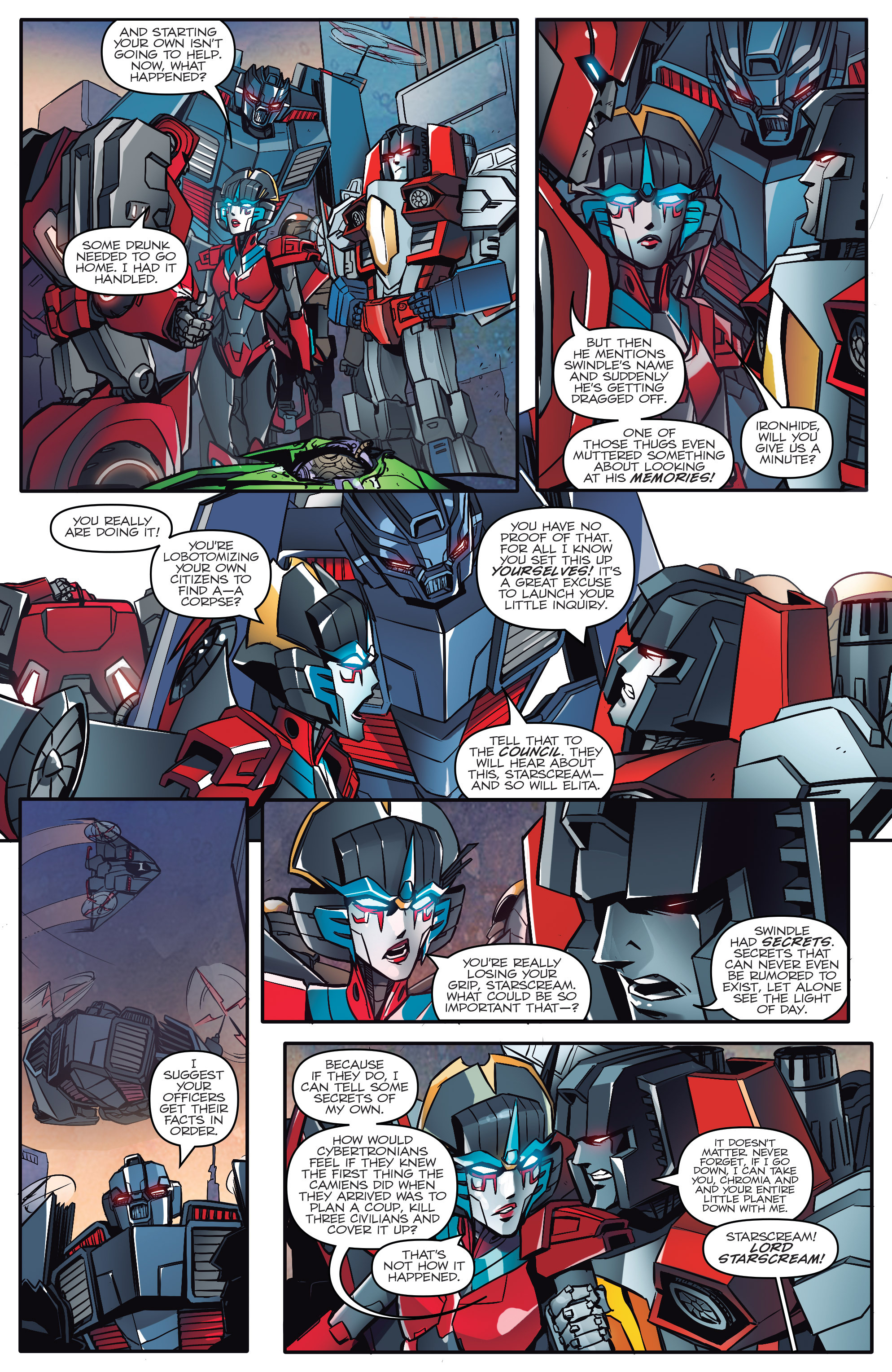 Read online Transformers: Till All Are One comic -  Issue #1 - 20