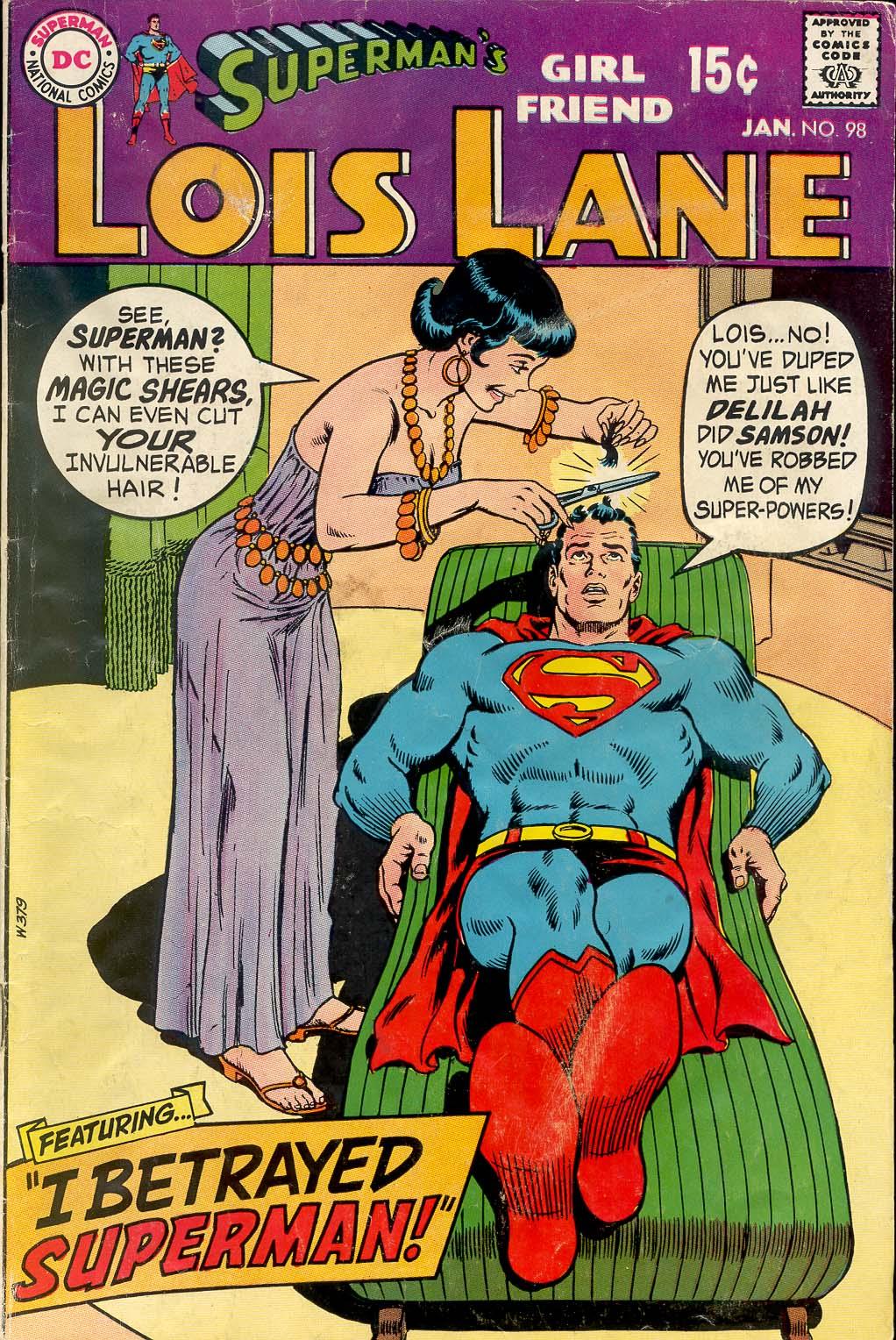 Supermans Girl Friend, Lois Lane 98 Page 1