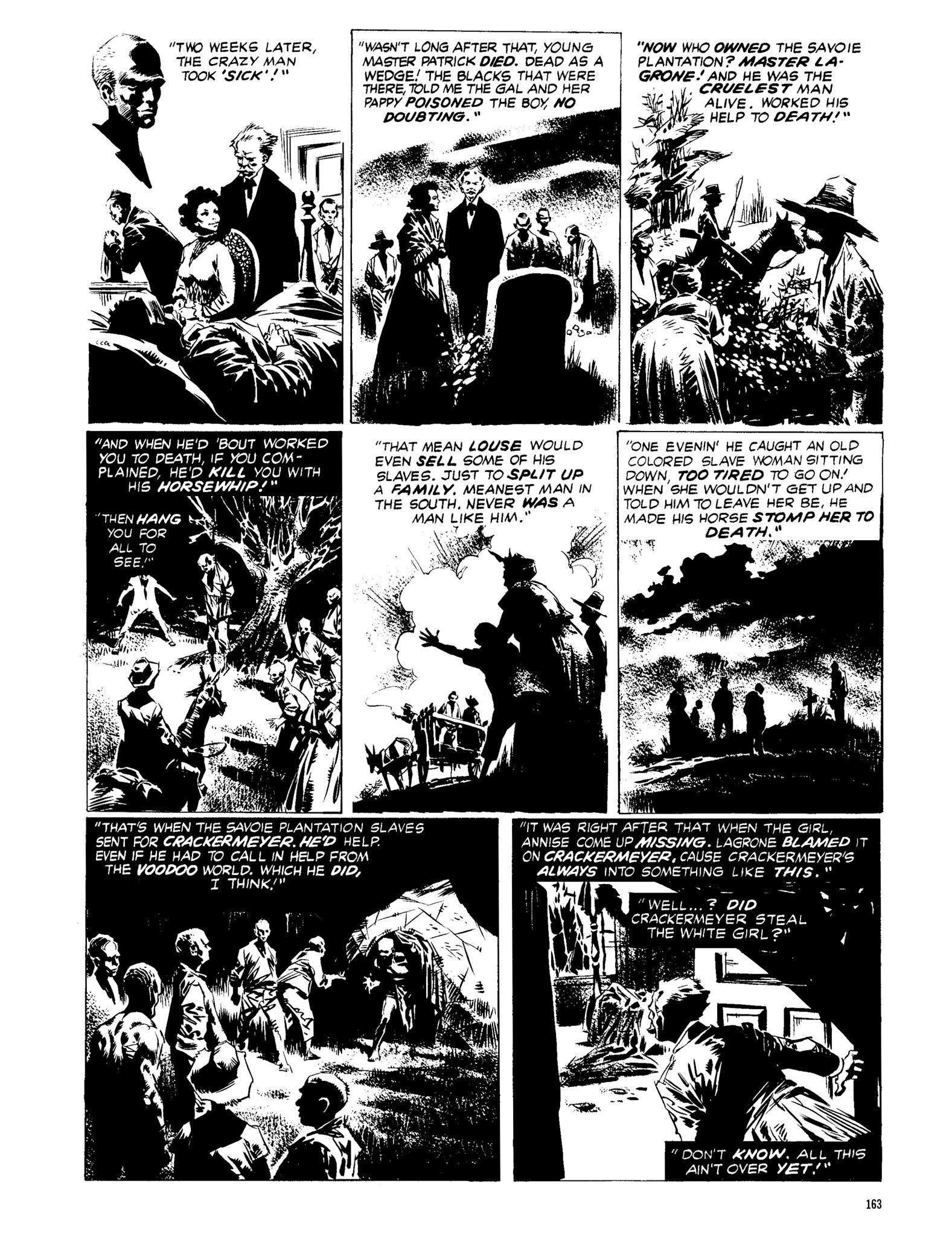 Read online Eerie Archives comic -  Issue # TPB 13 - 164