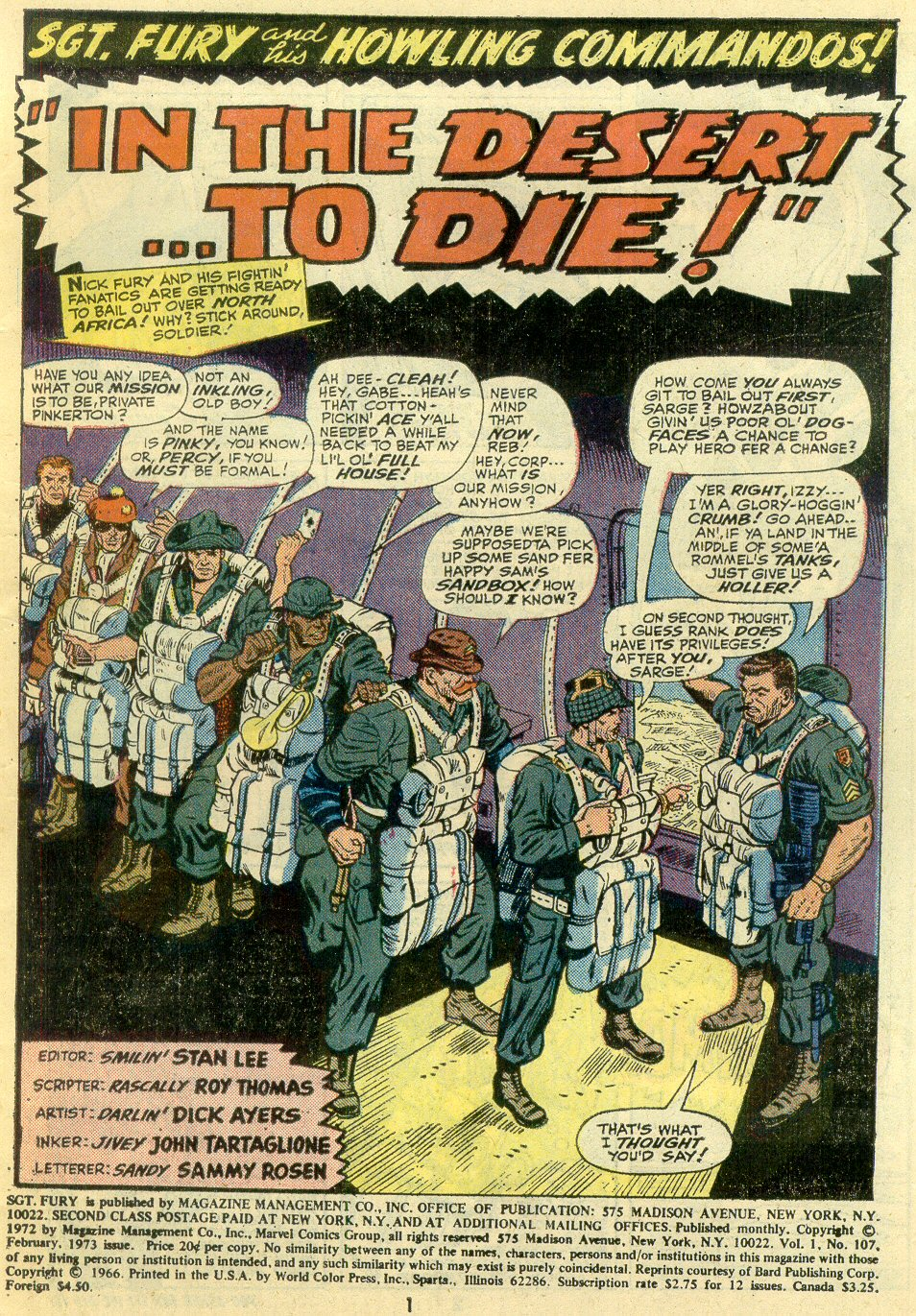 Read online Sgt. Fury comic -  Issue #107 - 3