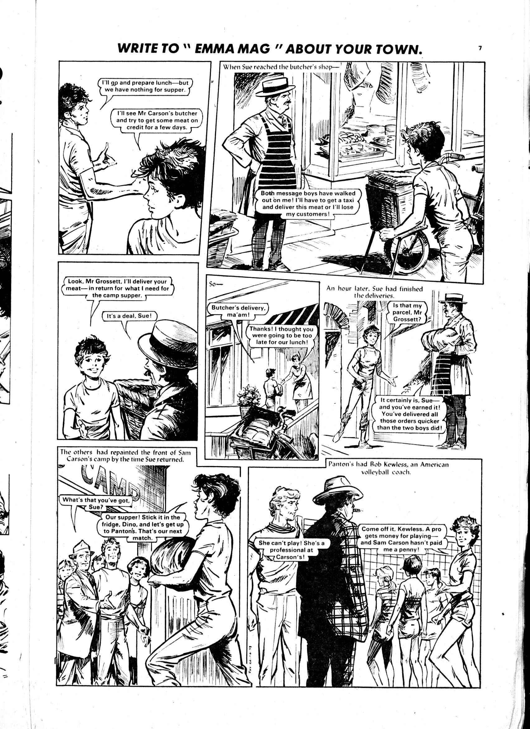 Read online Judy comic -  Issue #1032 - 7
