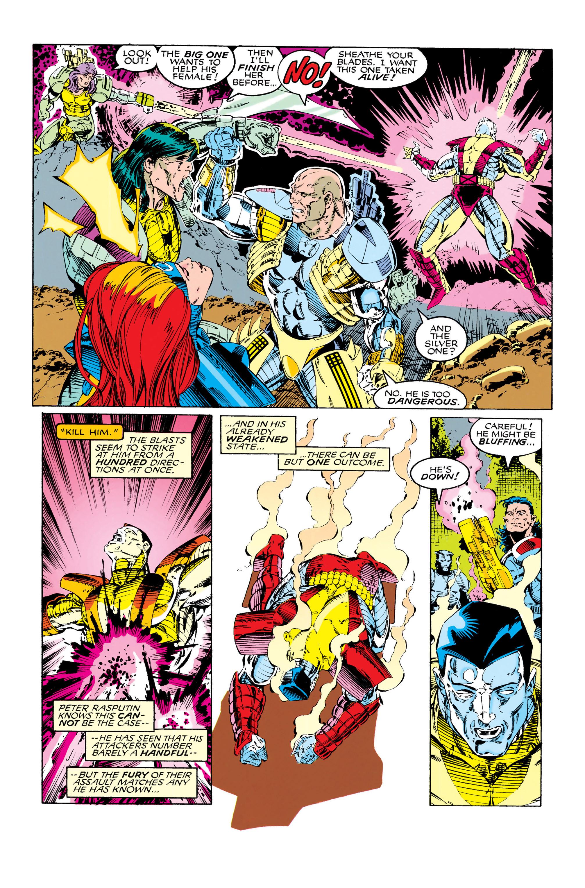 Read online Uncanny X-Men (1963) comic -  Issue #285 - 4