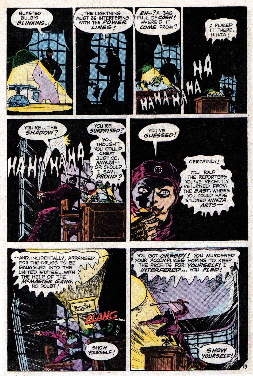 The Shadow (1973) issue 6 - Page 31