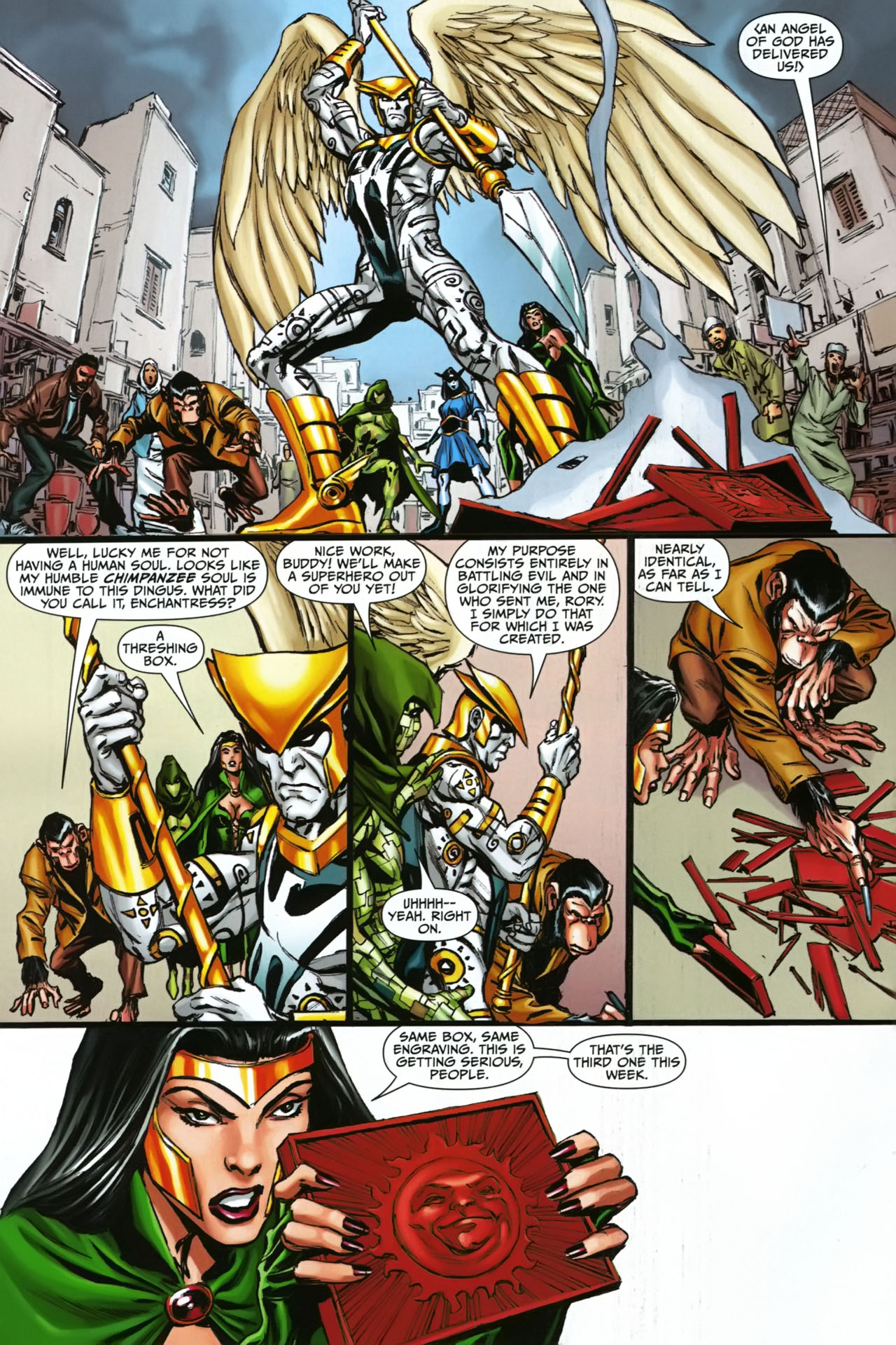 Read online Shadowpact comic -  Issue #23 - 7