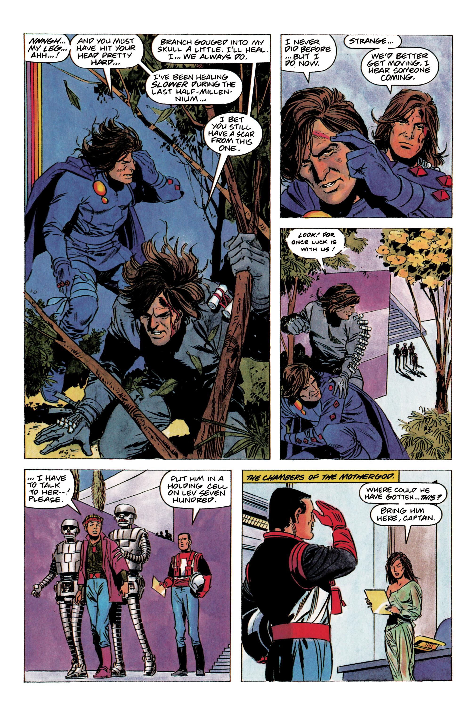 Read online Eternal Warrior (1992) comic -  Issue #2 - 16