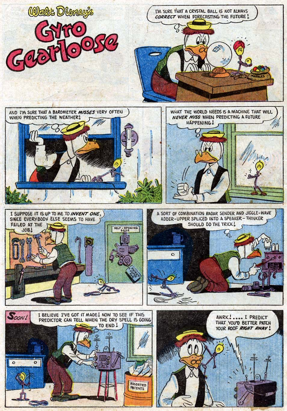 Read online Uncle Scrooge (1953) comic -  Issue #16 - 24