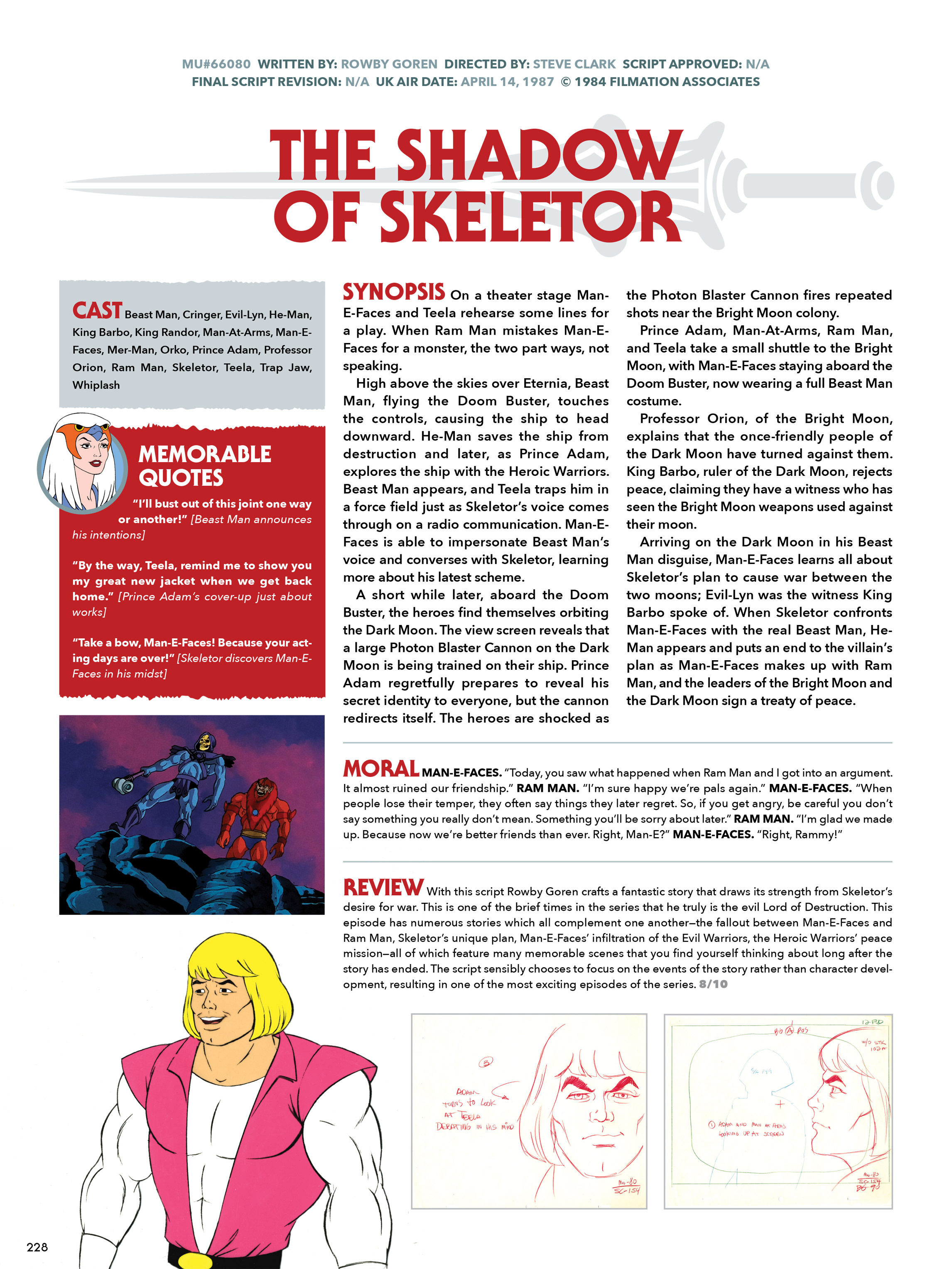 Read online He-Man and She-Ra: A Complete Guide to the Classic Animated Adventures comic -  Issue # TPB (Part 2) - 29