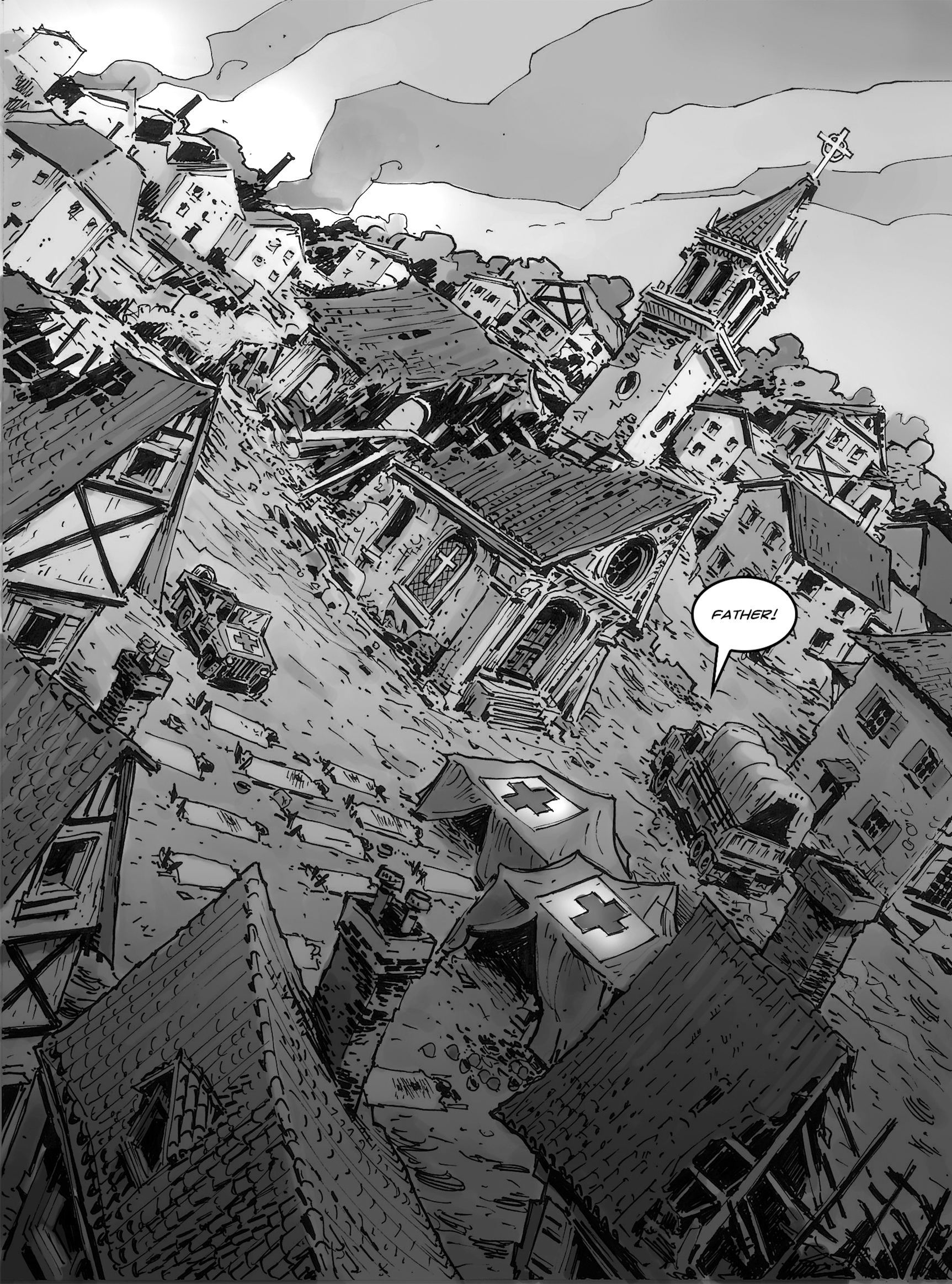 Read online FUBAR comic -  Issue #1 - 23
