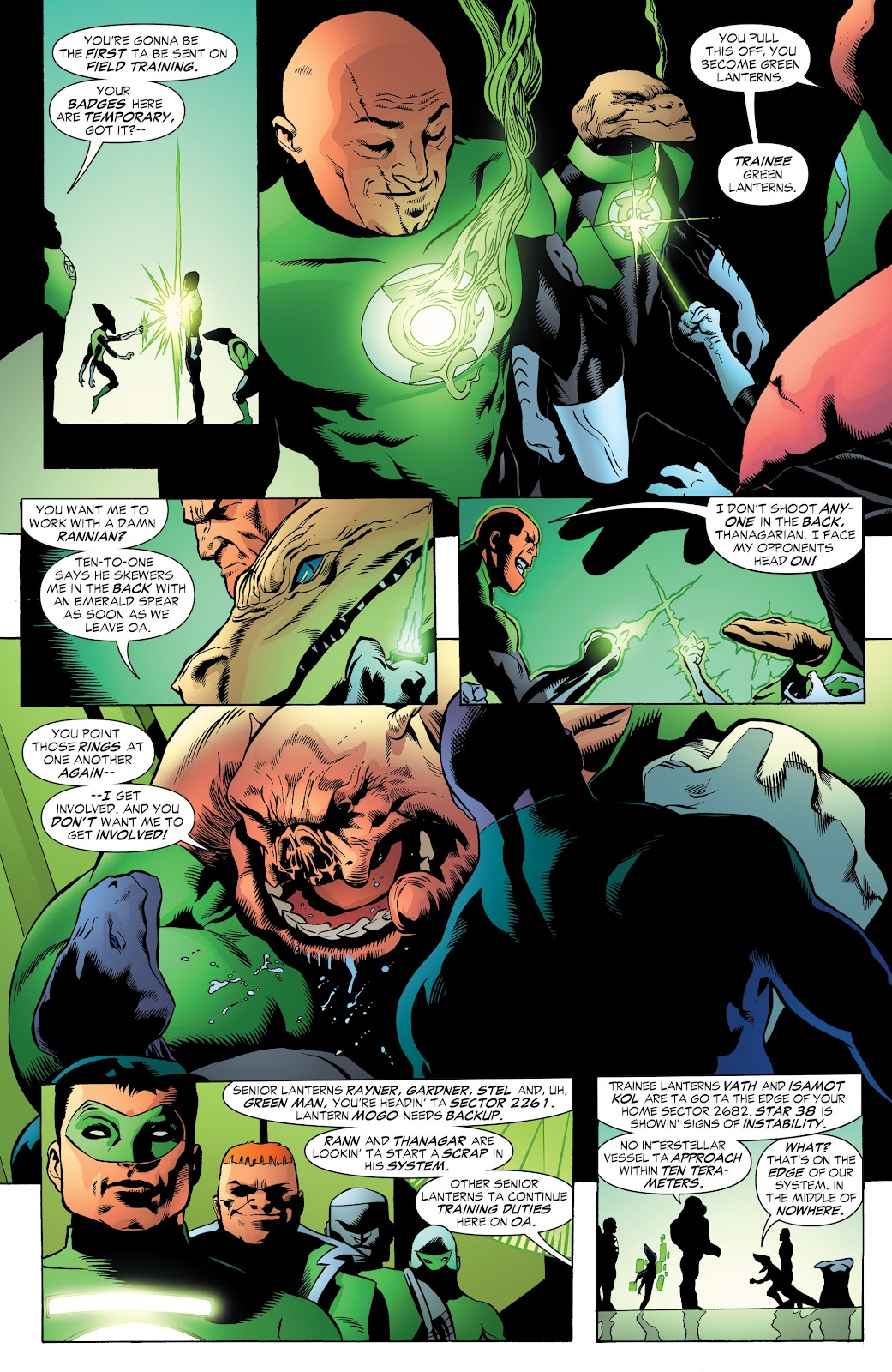 Read online Green Lantern by Geoff Johns comic -  Issue # TPB 1 (Part 3) - 10