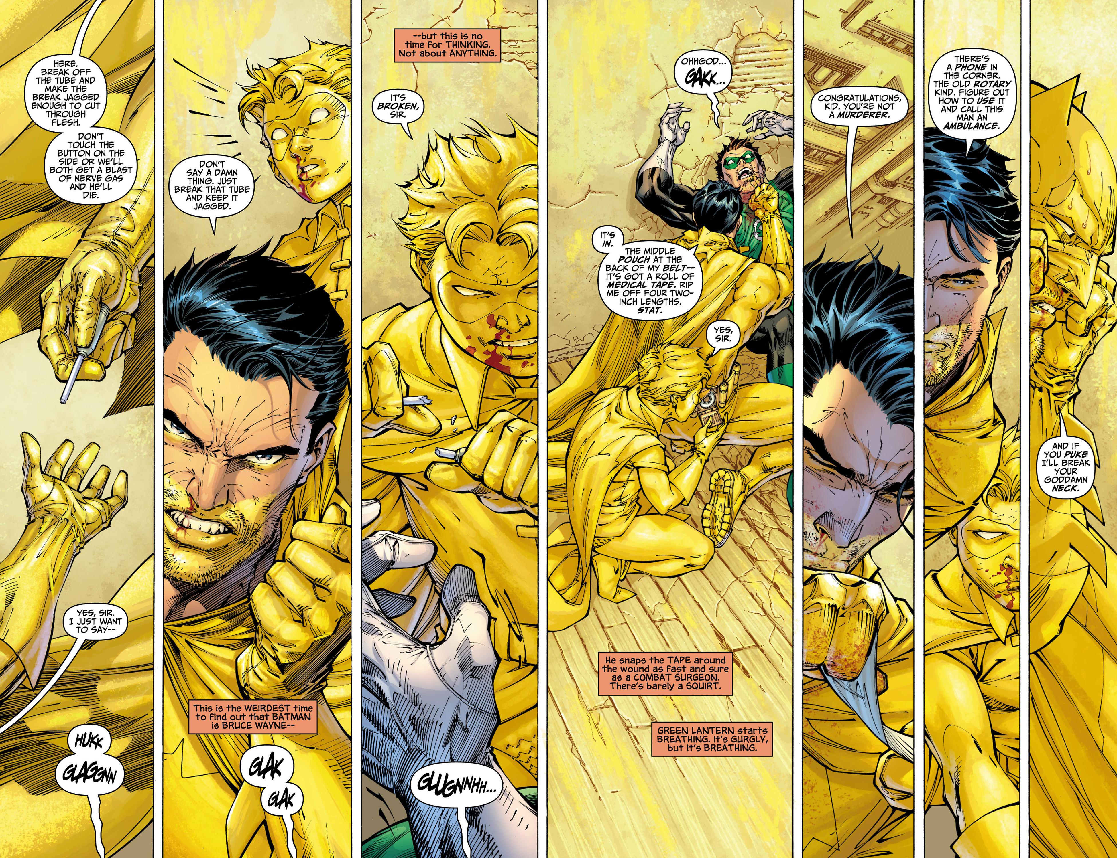 Read online All Star Batman & Robin, The Boy Wonder comic -  Issue #9 - 16