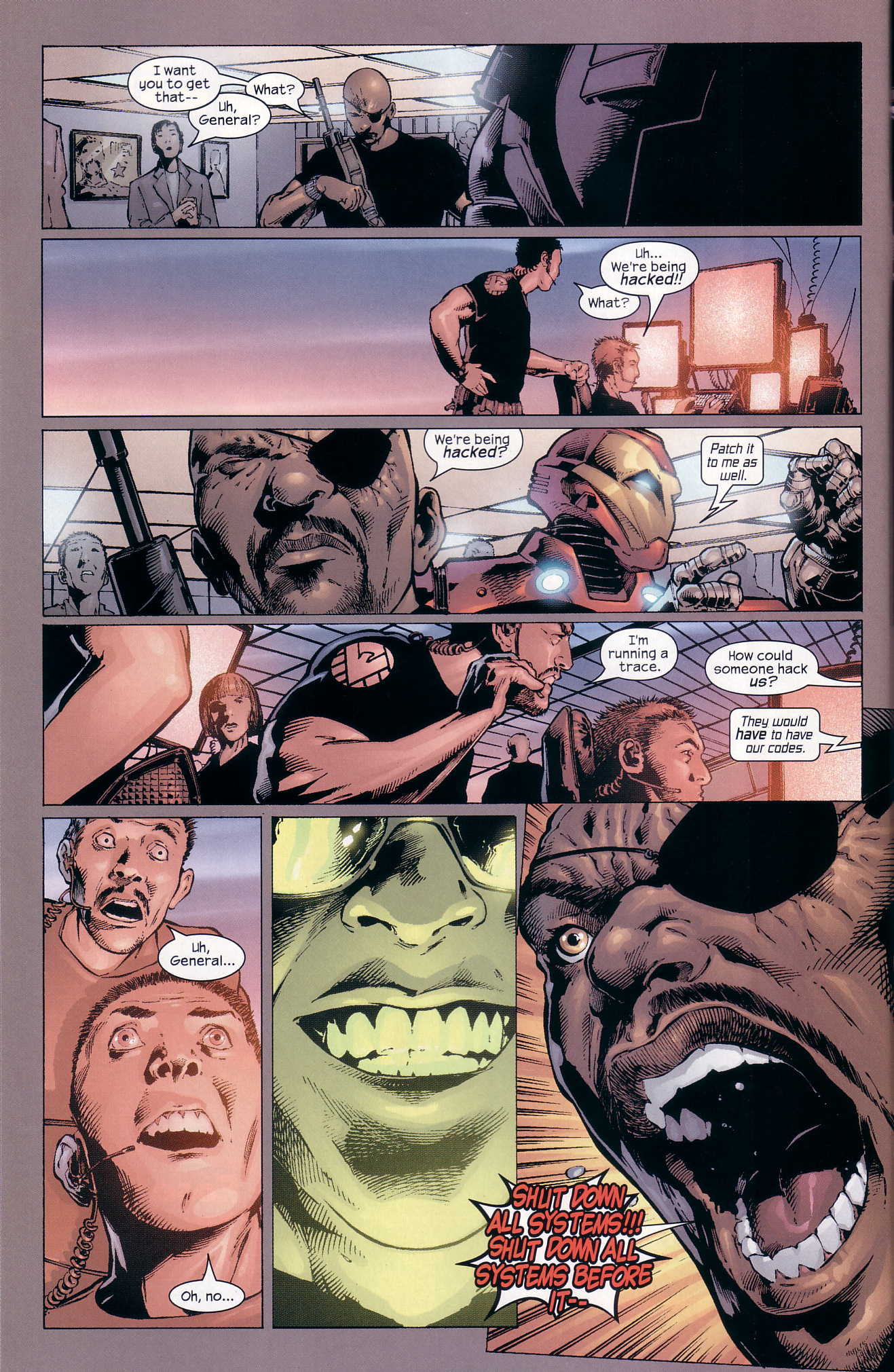 Read online Ultimate Six comic -  Issue #4 - 19