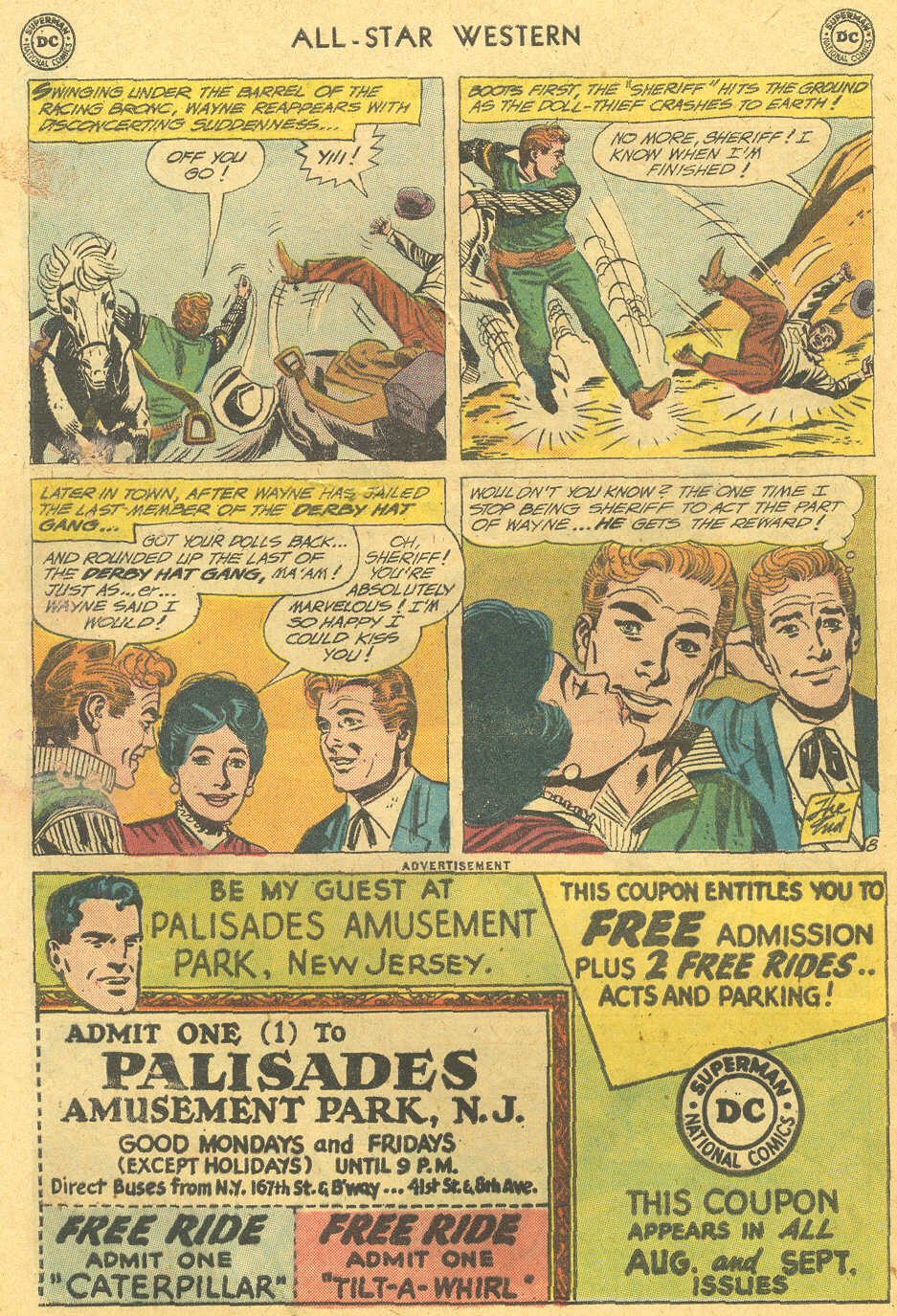 Read online All-Star Western (1951) comic -  Issue #114 - 32