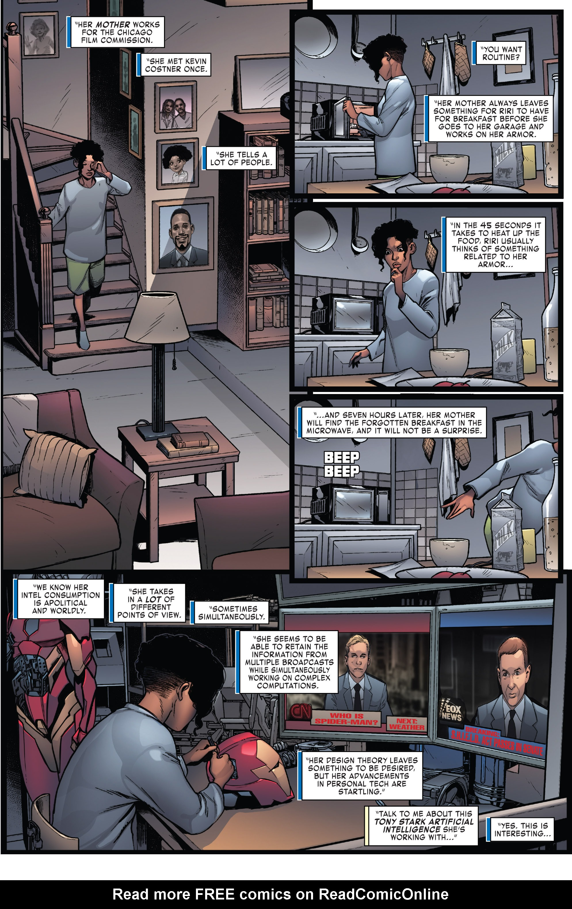 Read online Invincible Iron Man (2016) comic -  Issue #7 - 4