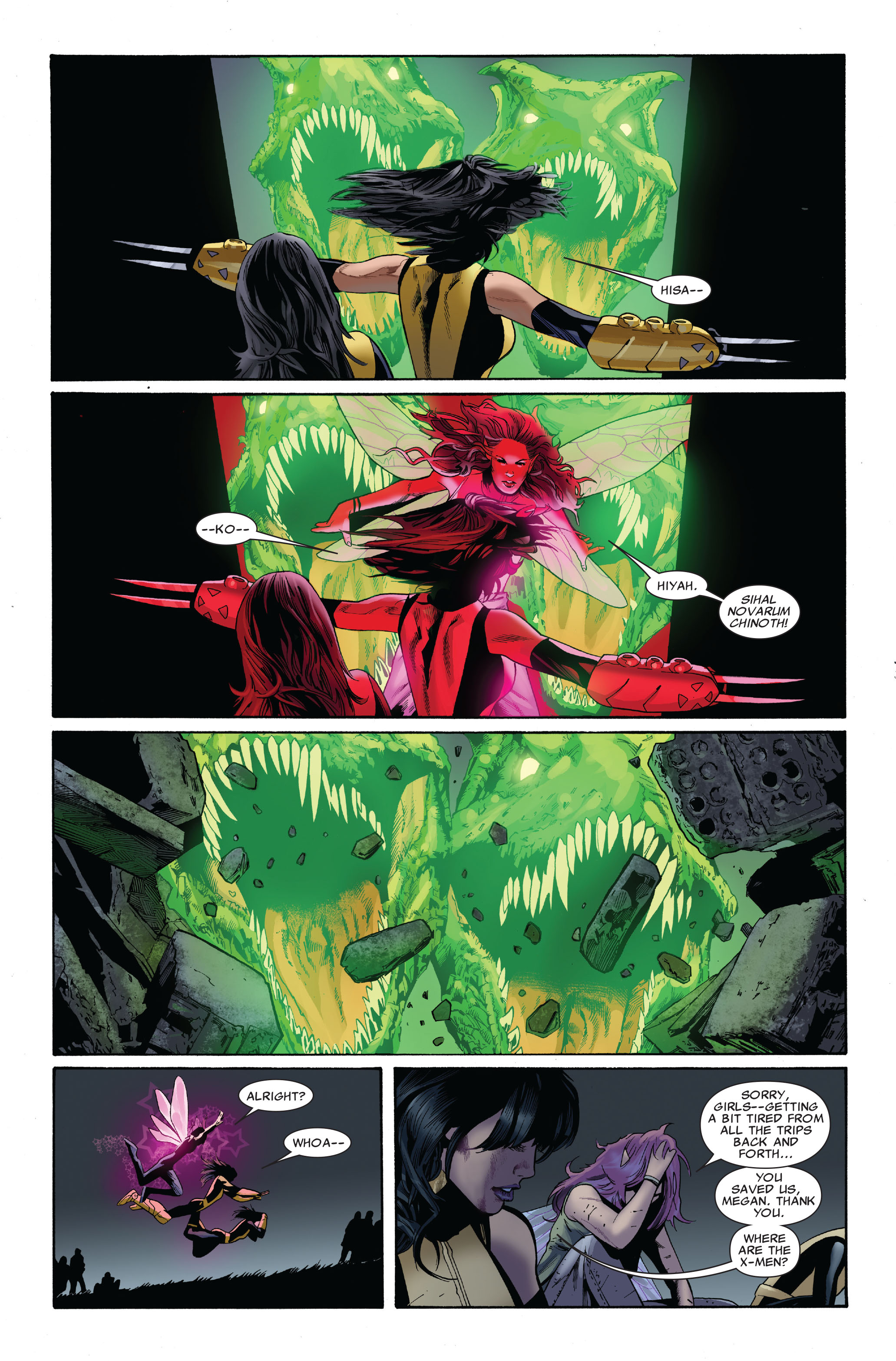 Read online Uncanny X-Men (1963) comic -  Issue #510 - 5