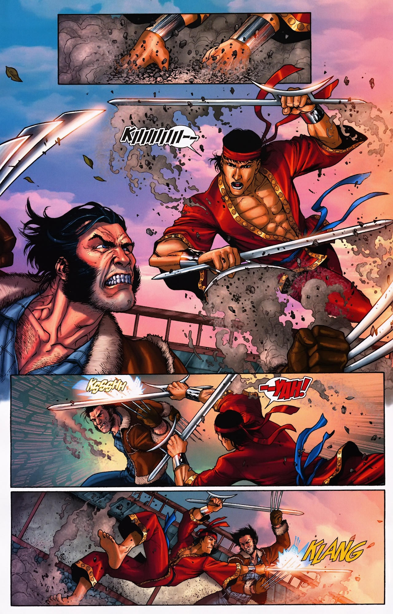 Read online Wolverine: First Class comic -  Issue #9 - 9