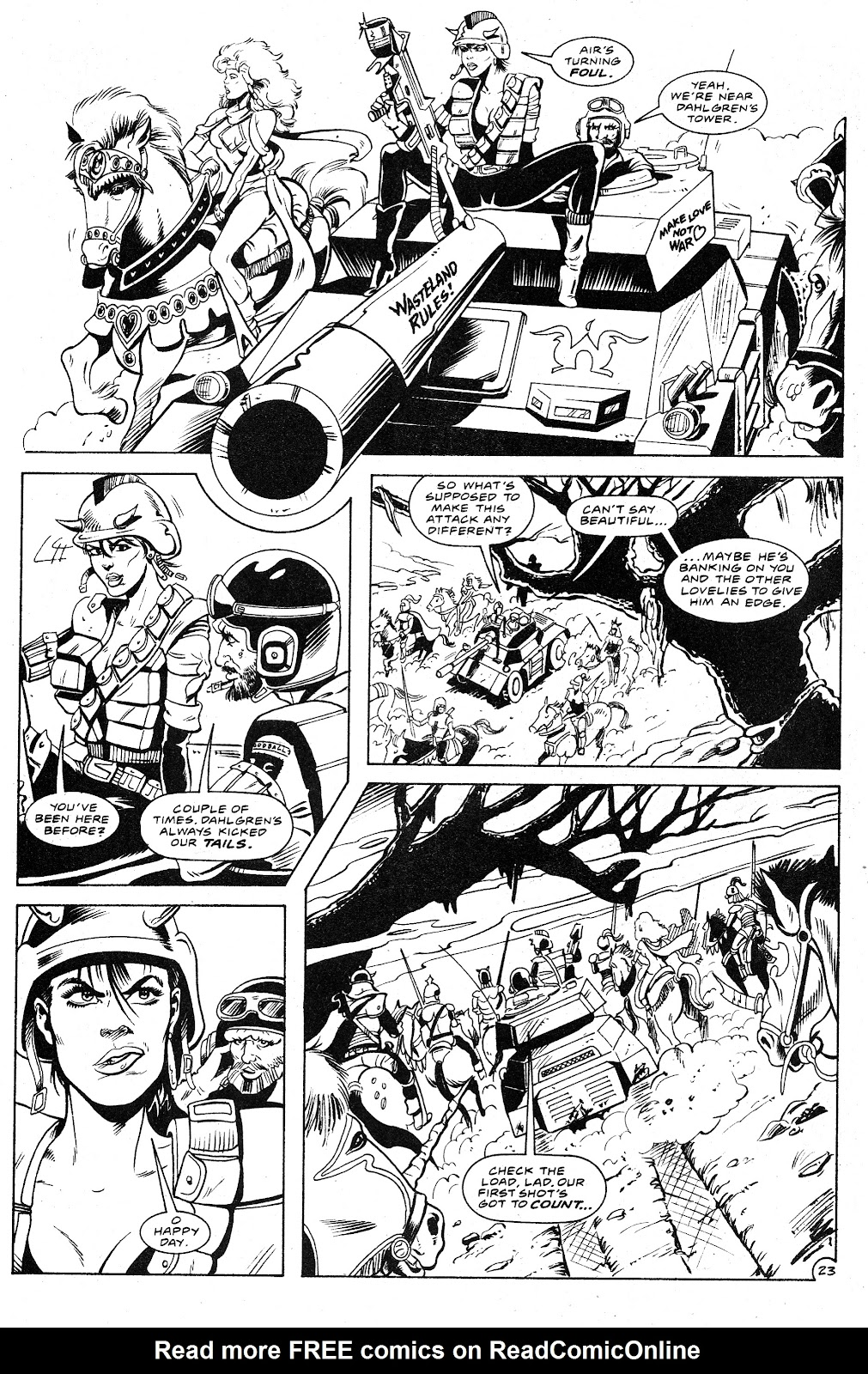 Ex-Mutants: The Shattered Earth Chronicles issue 9 - Page 25