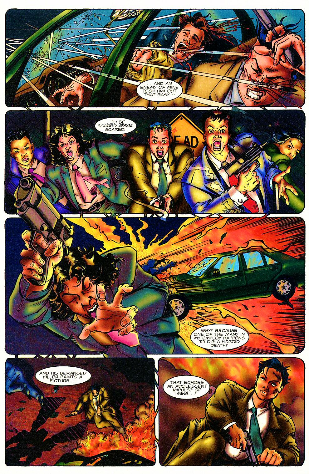 Read online Shi: The Way of the Warrior comic -  Issue #3 - 10