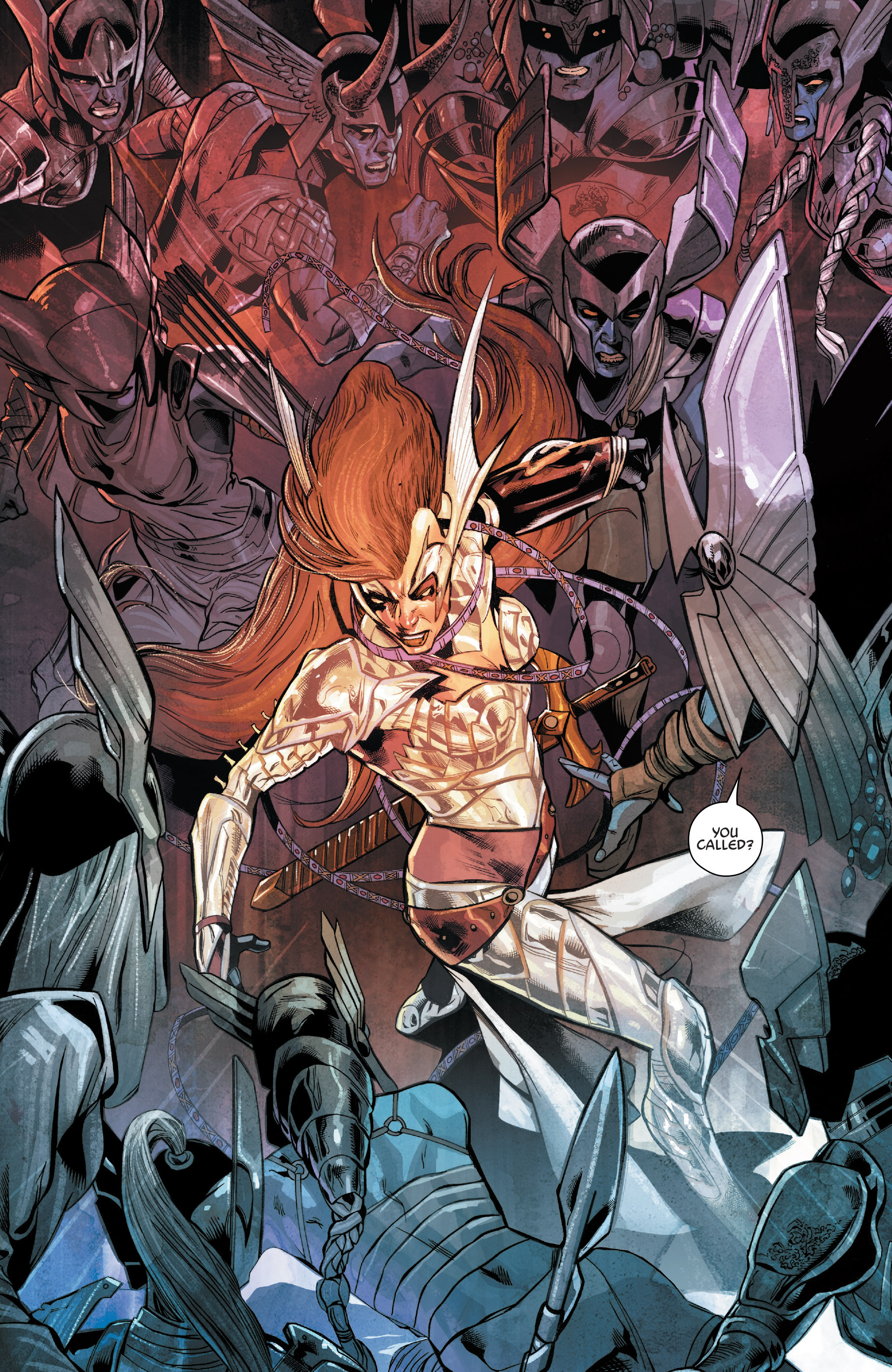 Read online Angela: Asgard's Assassin comic -  Issue #4 - 8