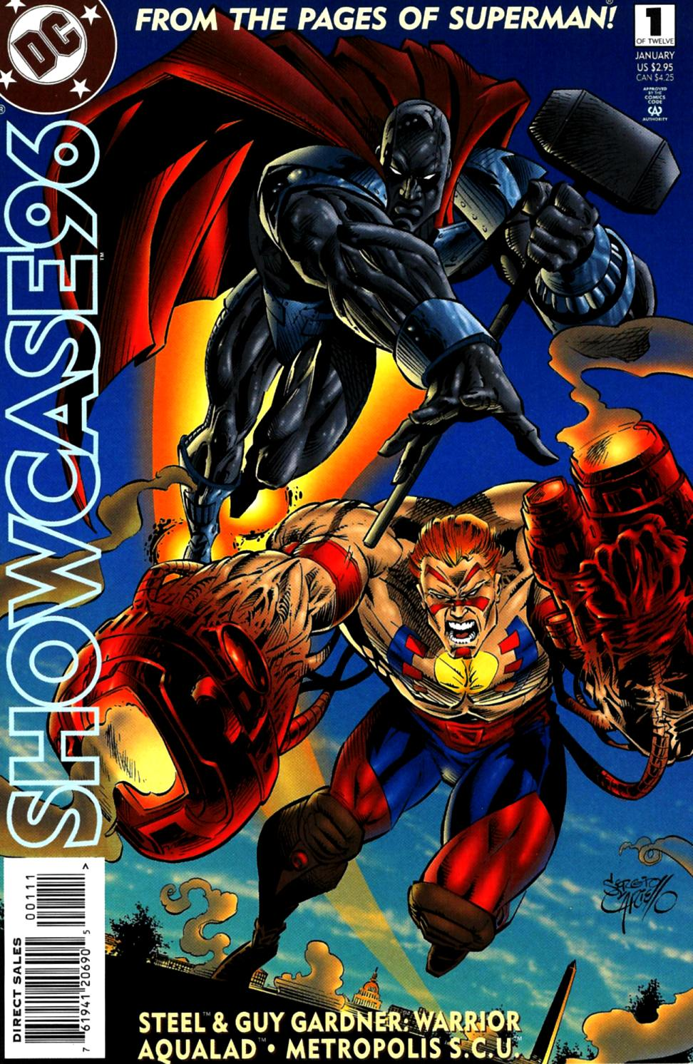 Read online Showcase '96 comic -  Issue #1 - 1