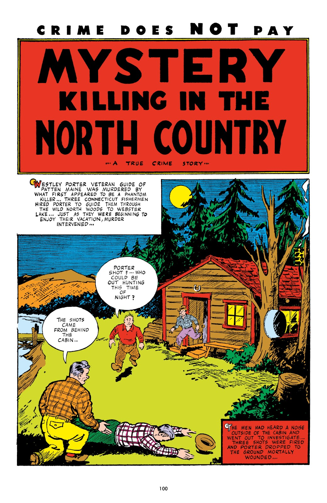 Read online Crime Does Not Pay Archives comic -  Issue # TPB 4 (Part 1) - 100