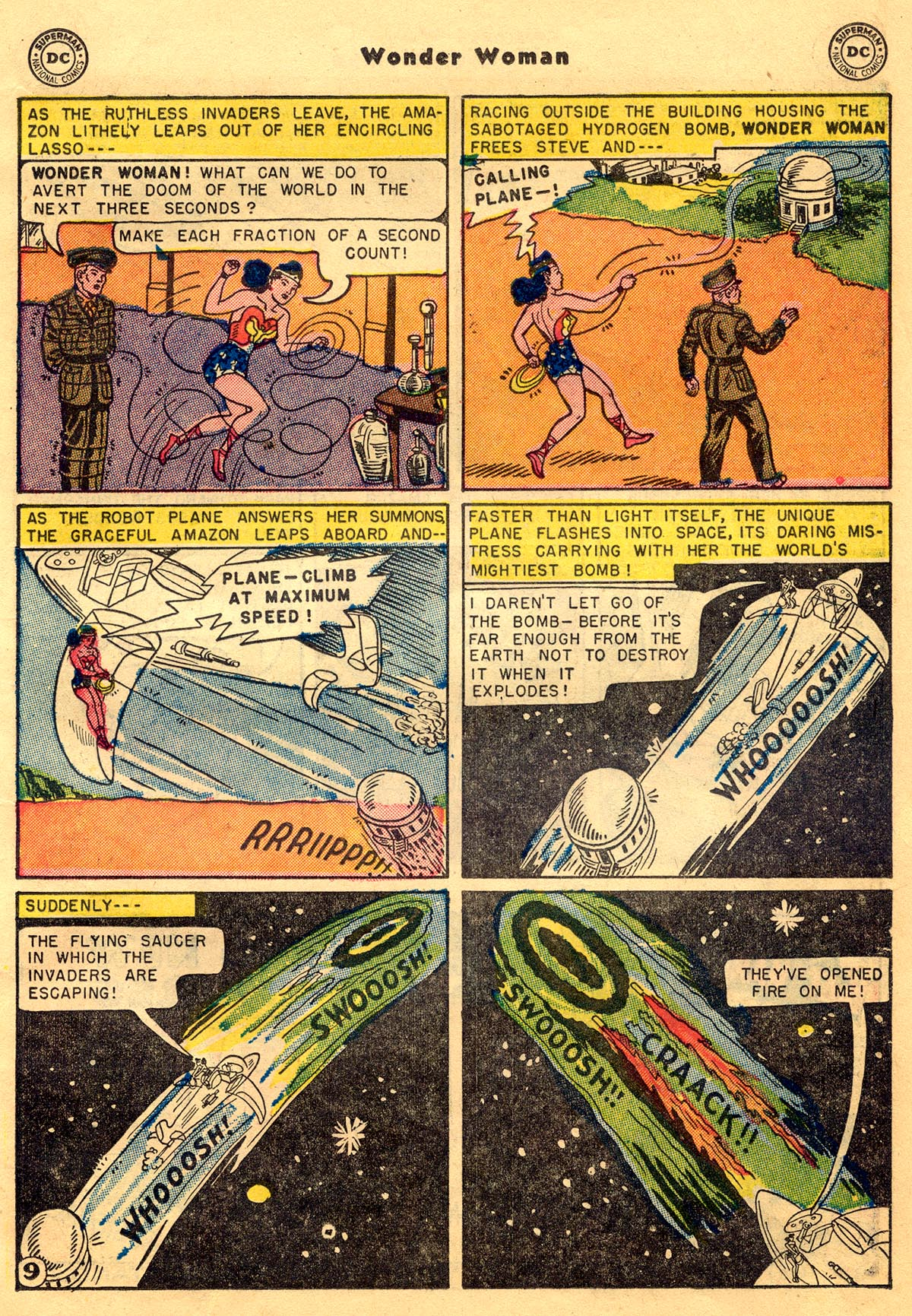 Read online Wonder Woman (1942) comic -  Issue #68 - 11