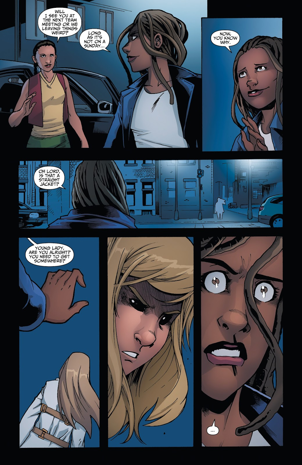Read online Incidentals comic -  Issue #15 - 19