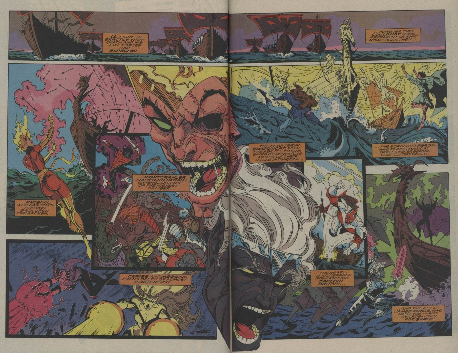 Excalibur (1988) issue Annual 1 - Page 37