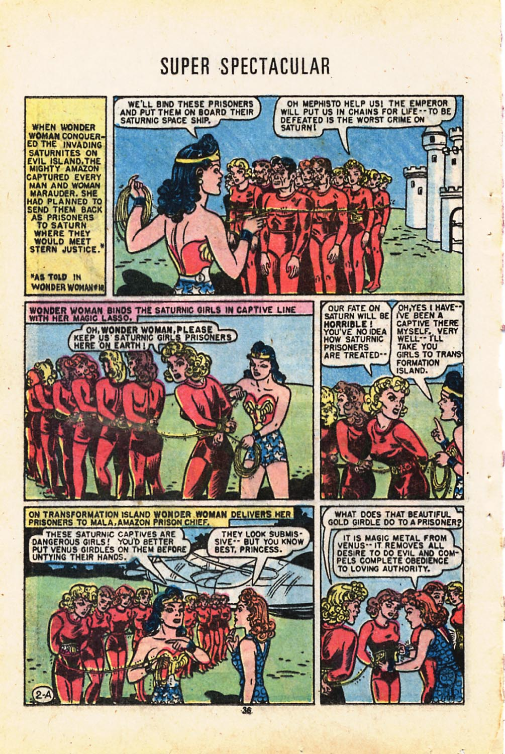 Read online Adventure Comics (1938) comic -  Issue #416 - 36