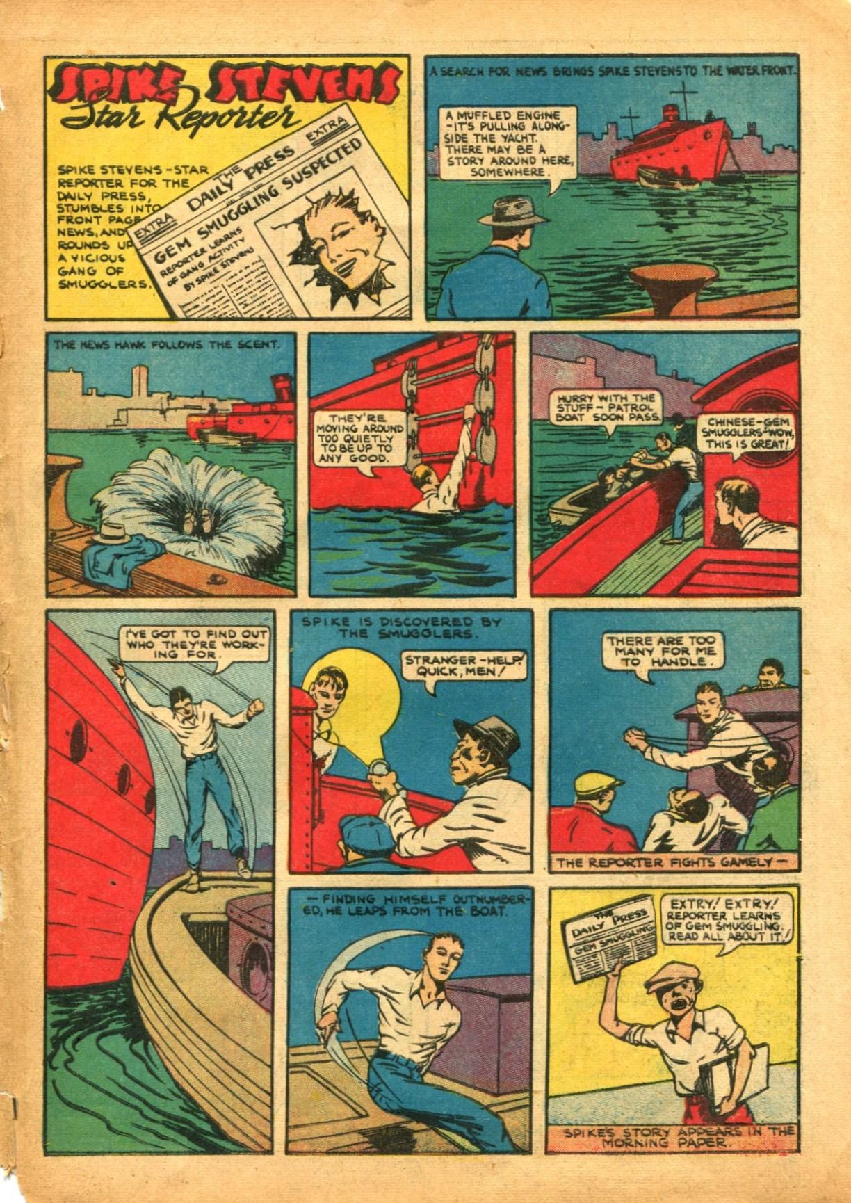 Read online Shadow Comics comic -  Issue #12 - 61