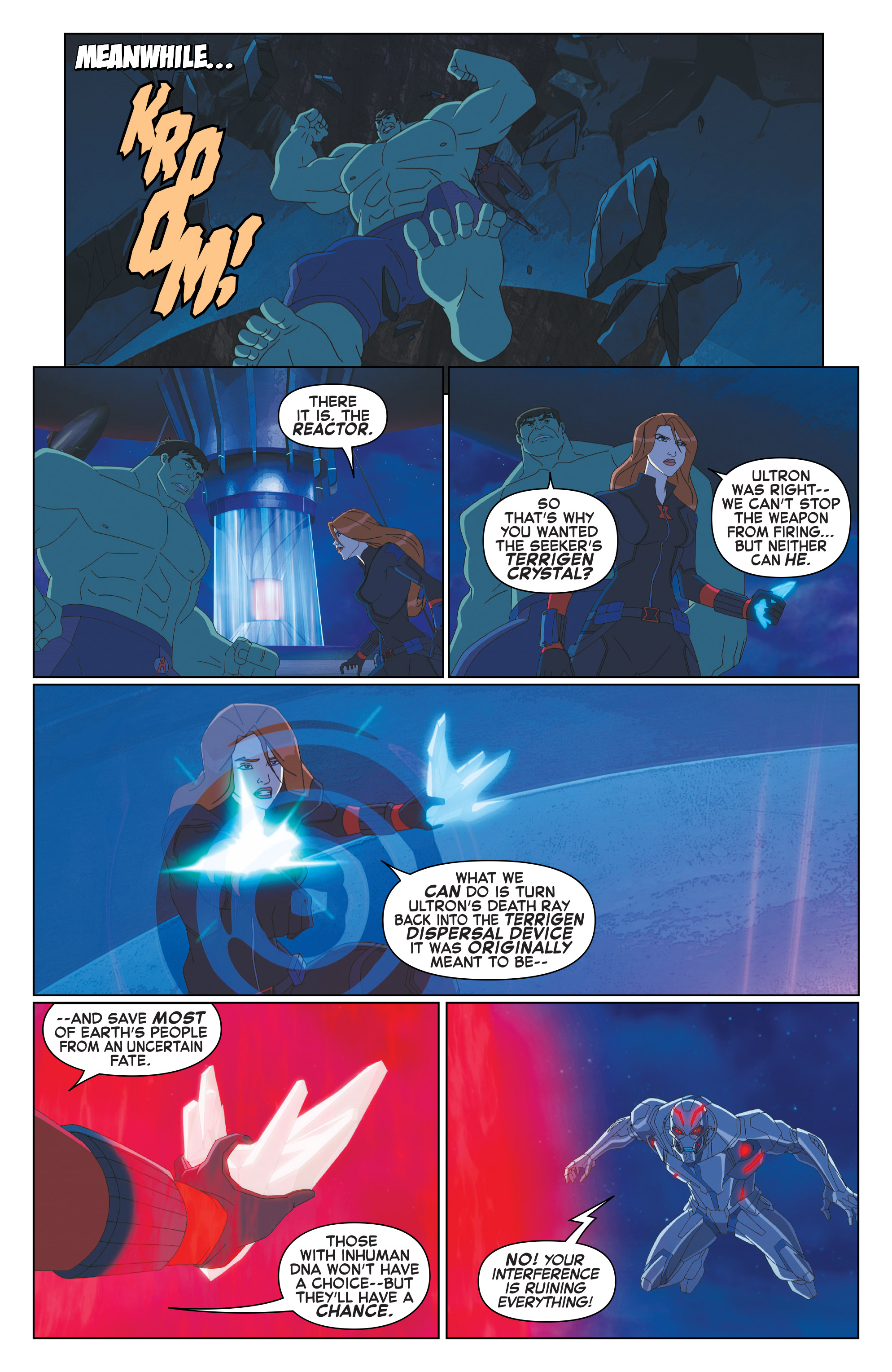 Read online Marvel Universe Avengers: Ultron Revolution comic -  Issue #10 - 17