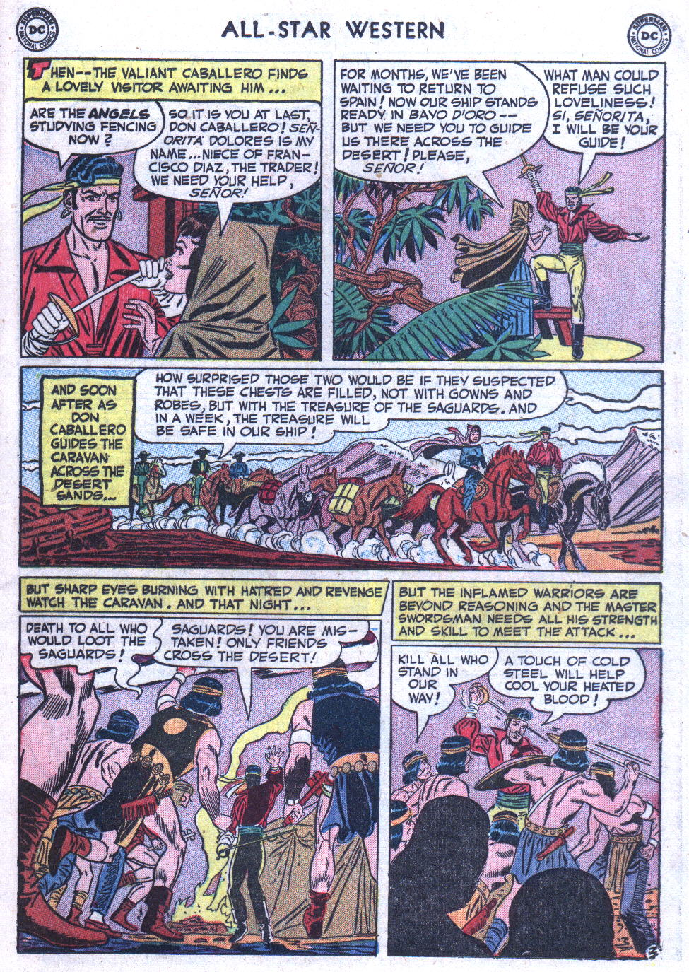 Read online All-Star Western (1951) comic -  Issue #59 - 17
