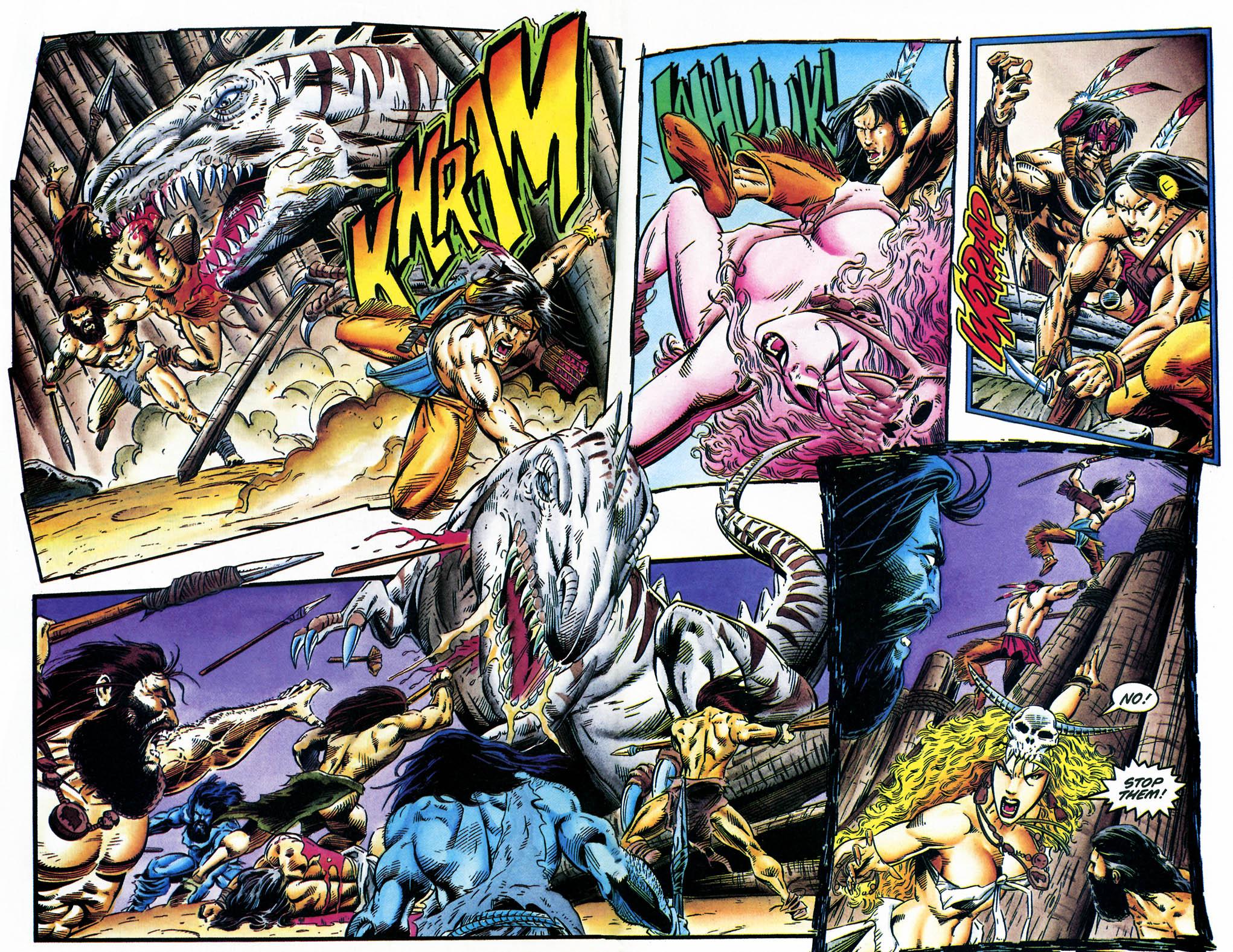 Read online Turok, Dinosaur Hunter (1993) comic -  Issue #35 - 15