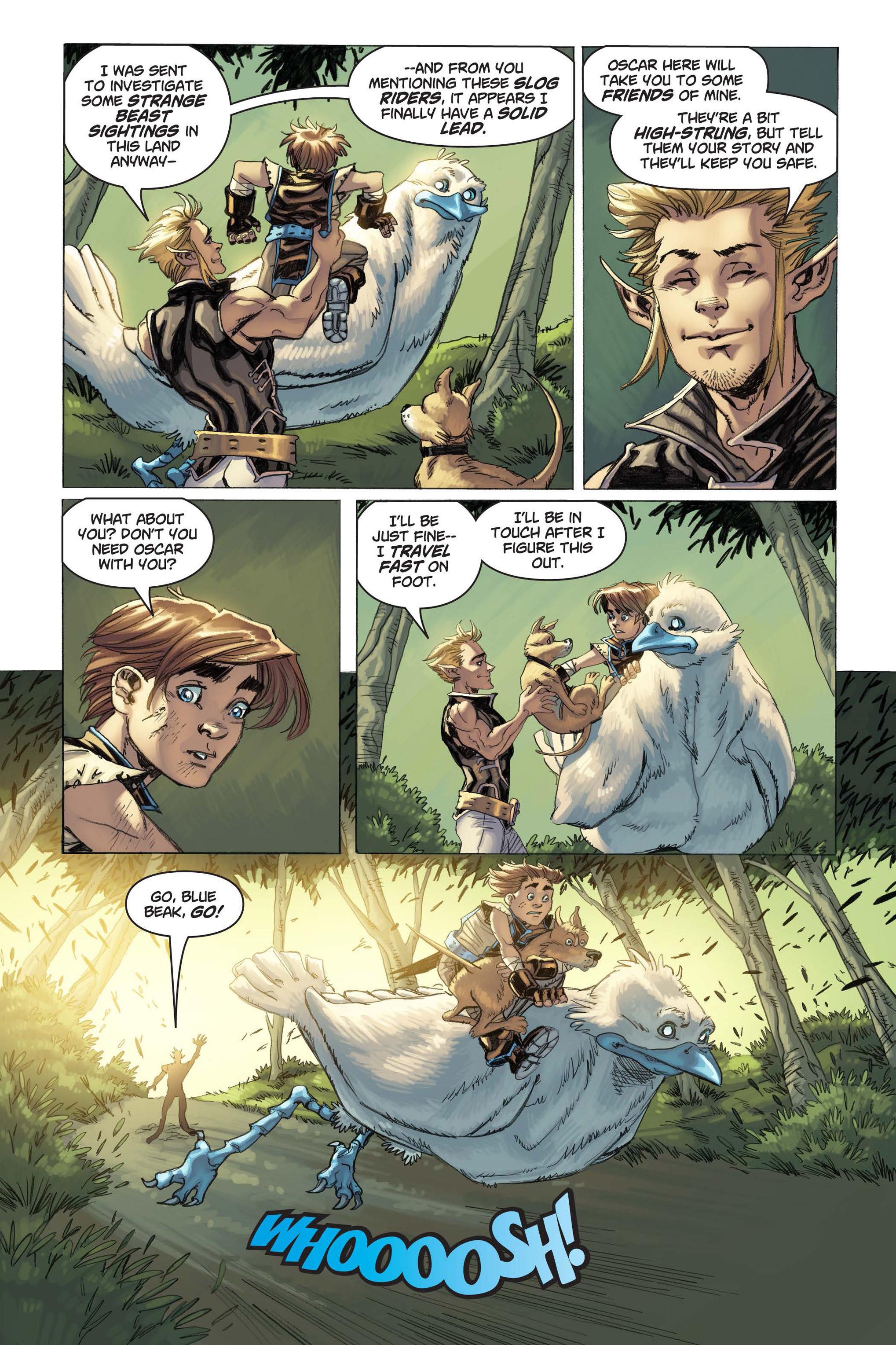 Read online Skyward comic -  Issue #3 - 19