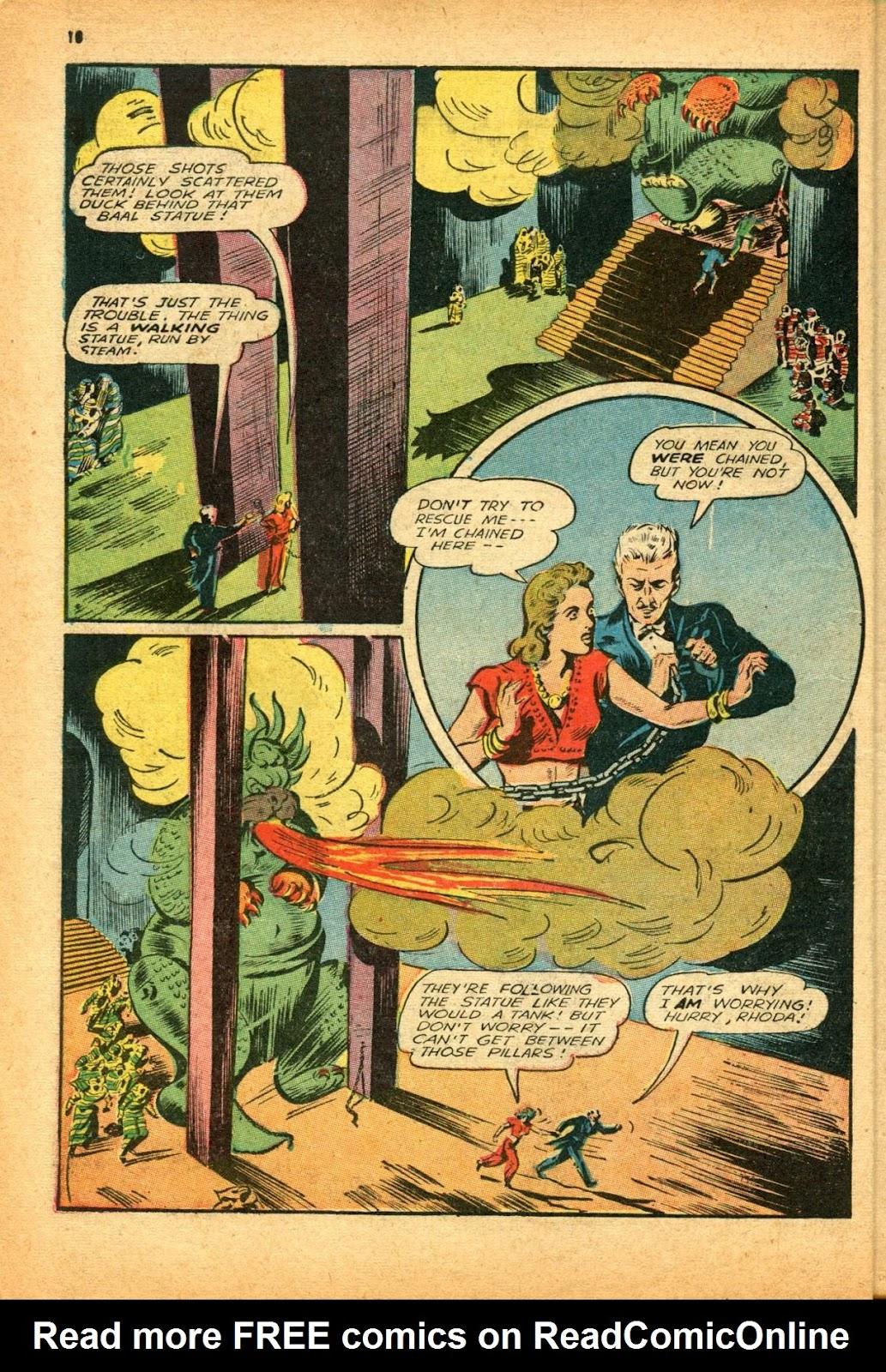 Read online Super-Magician Comics comic -  Issue #12 - 18