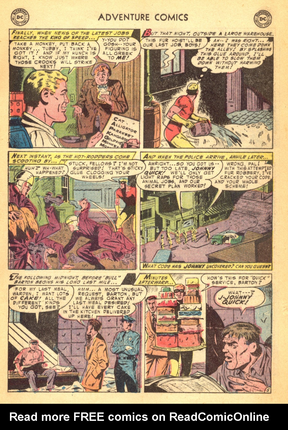 Read online Adventure Comics (1938) comic -  Issue #202 - 21